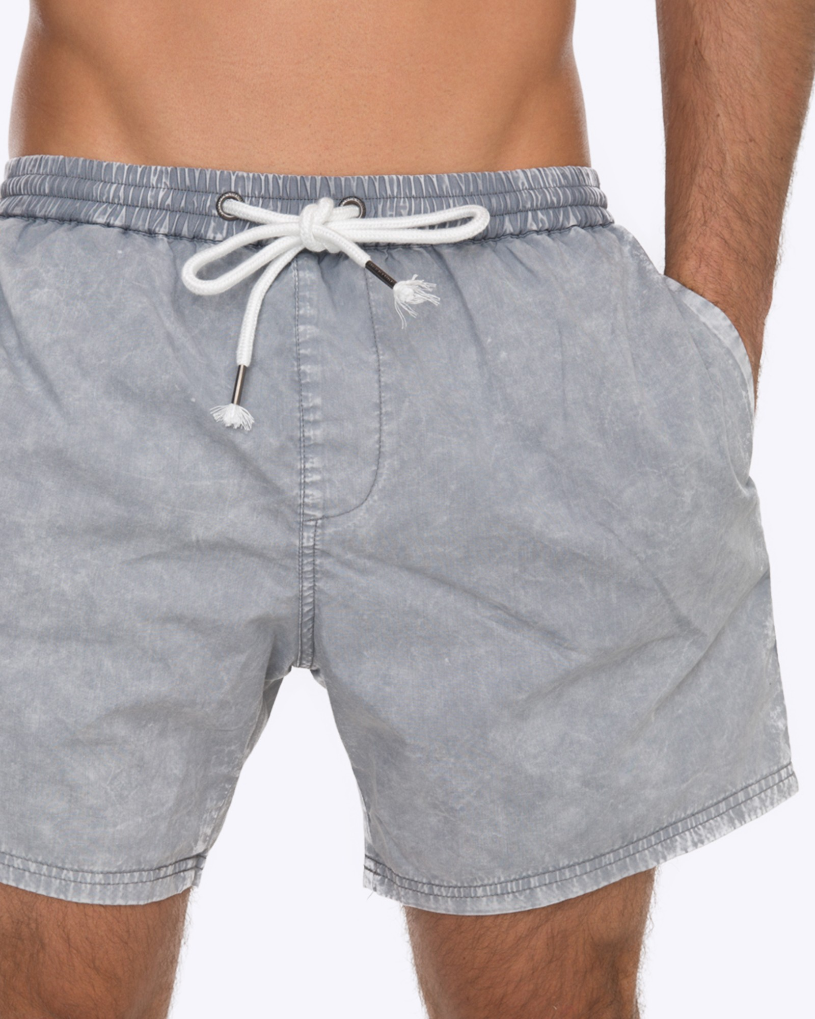 DRY ICE ACID GREY WALK SHORTS