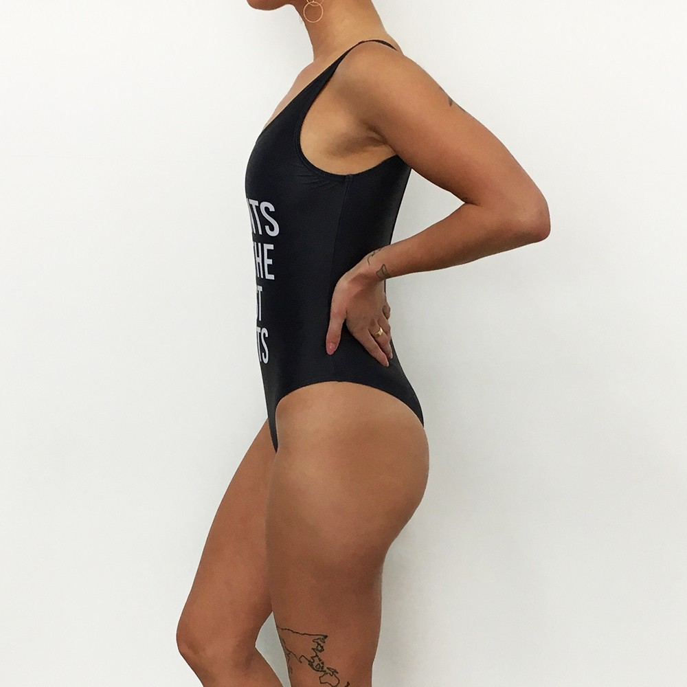 NO PANTS ONE PIECE SWIMSUIT