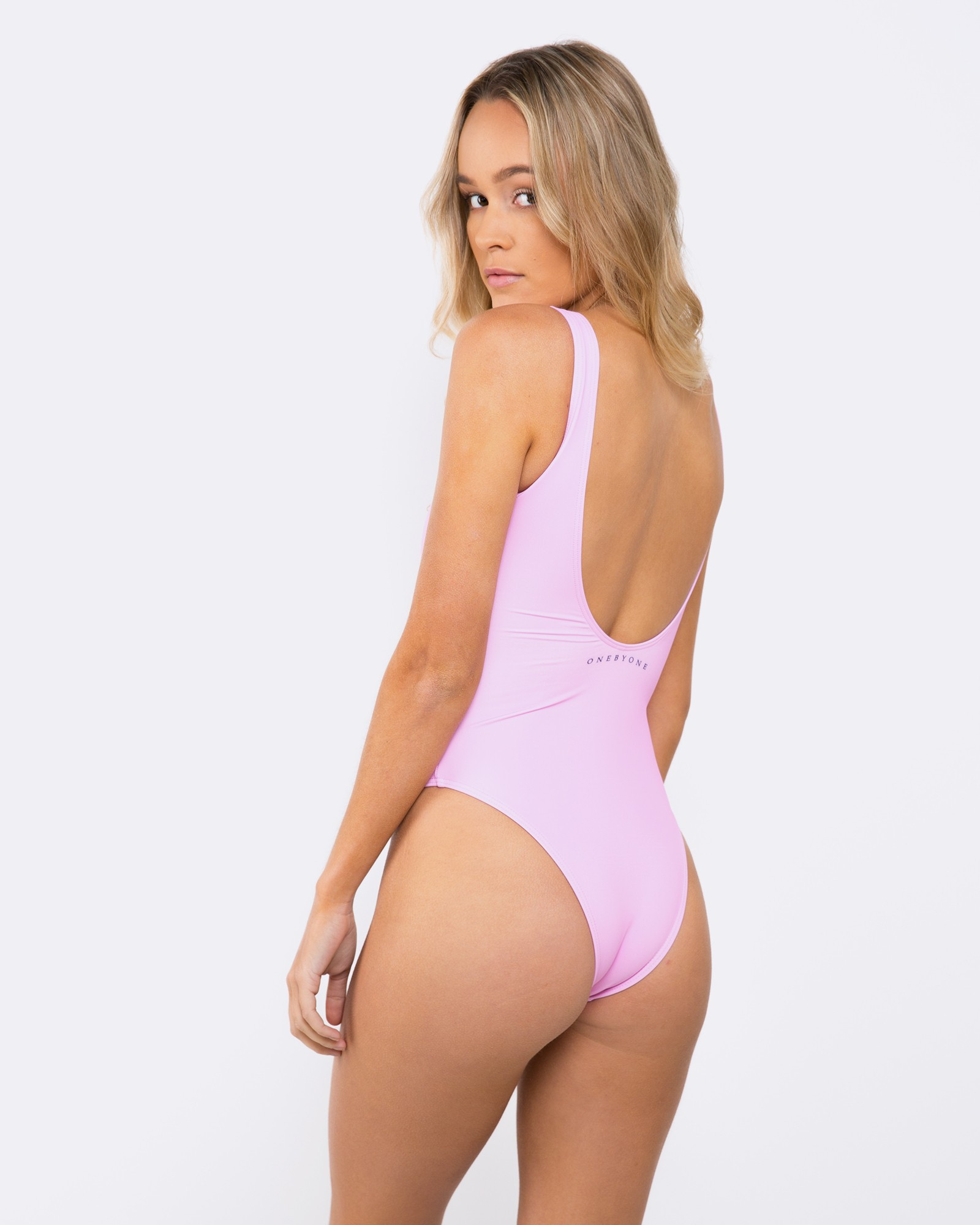 BLANK PINK SWIMSUIT