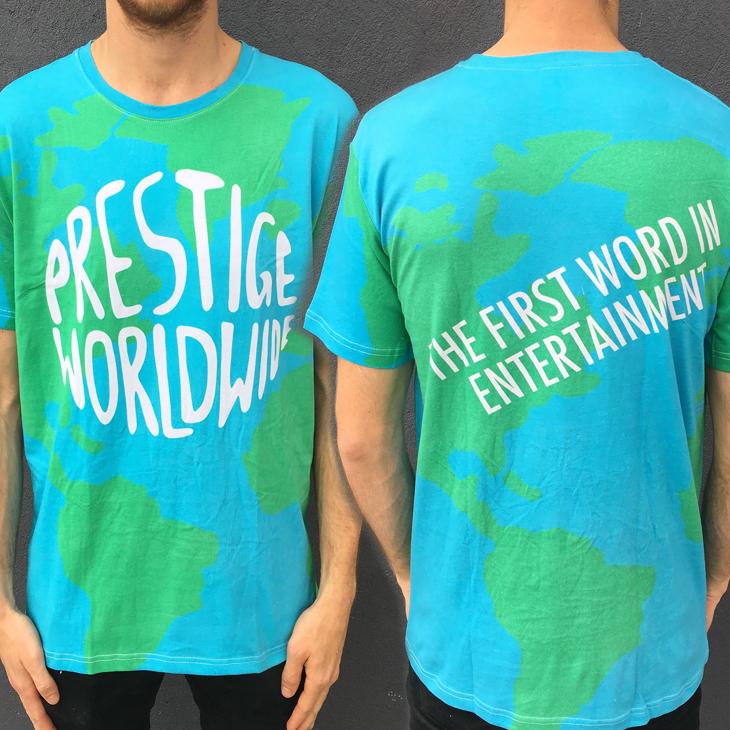FULL PRINT PRESTIGE WORLDWIDE TEE