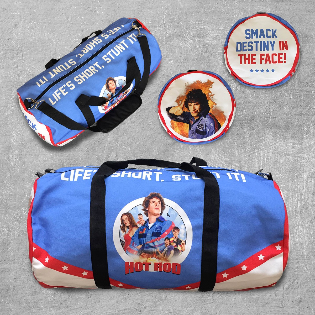 HOT ROD DUFFLE BAG