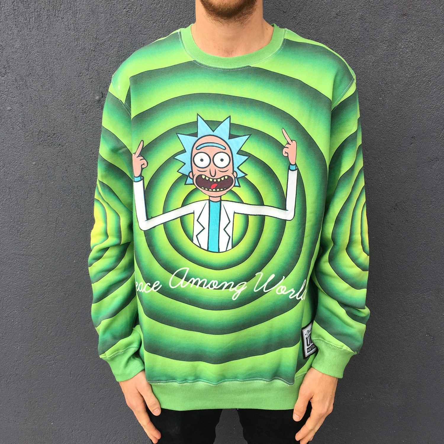 FULL PRINT PEACE AMONG WORLDS CREW