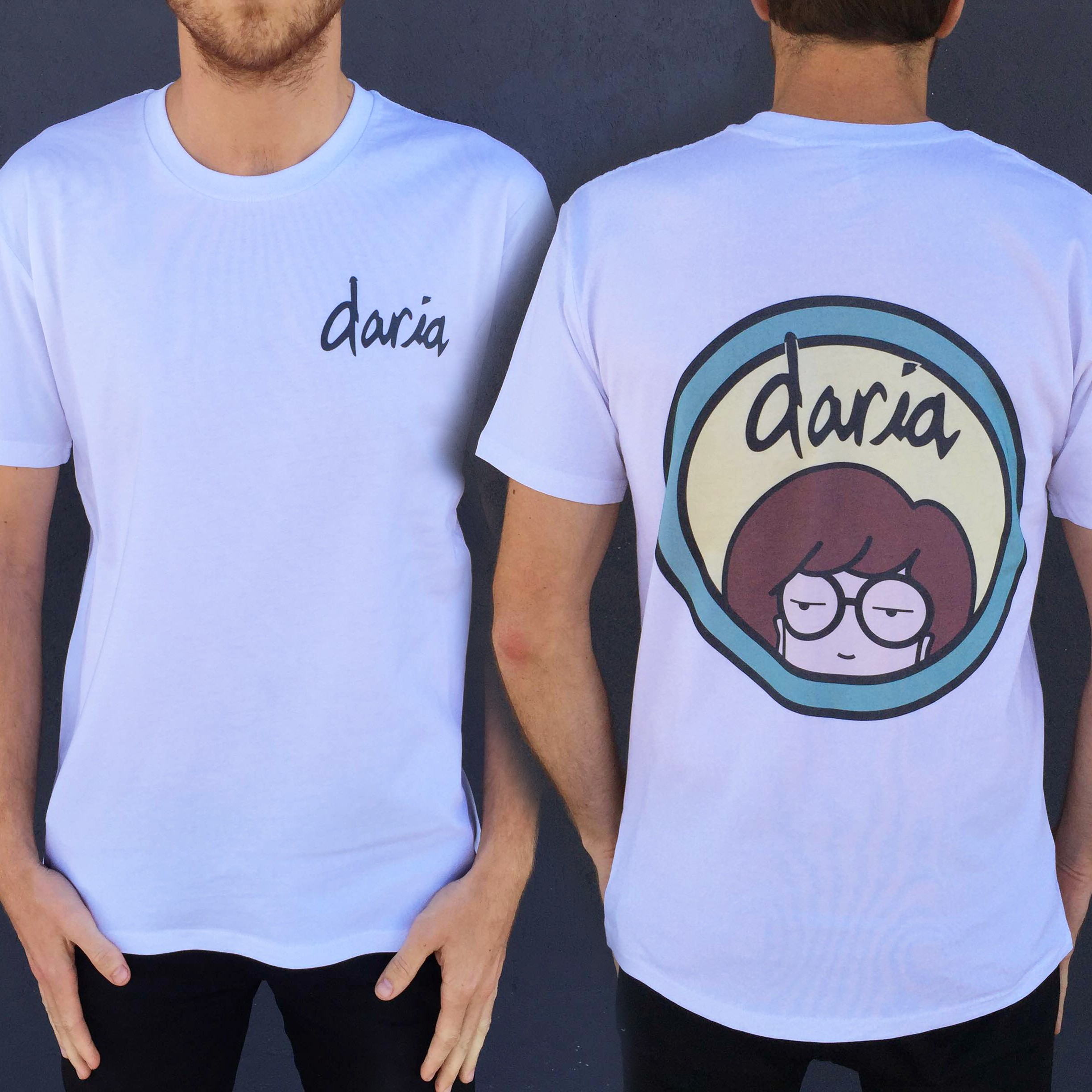 DARIA FRONT AND BACK TEE