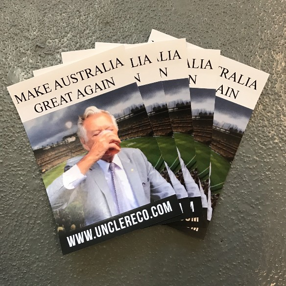 5 X GREAT AGAIN STICKERS