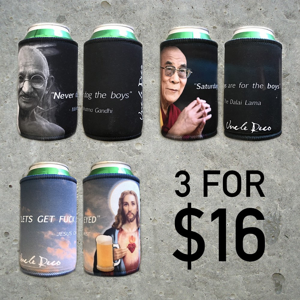 THREE WISE MEN STUBBY COOLER COMBO