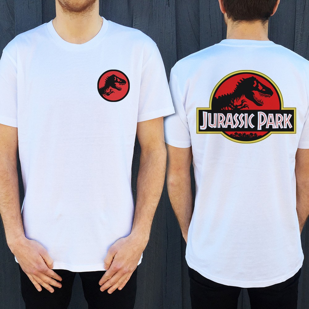 JURASSIC FRONT AND BACK TEE, Jurassic Front And Back Mens T-Shirt