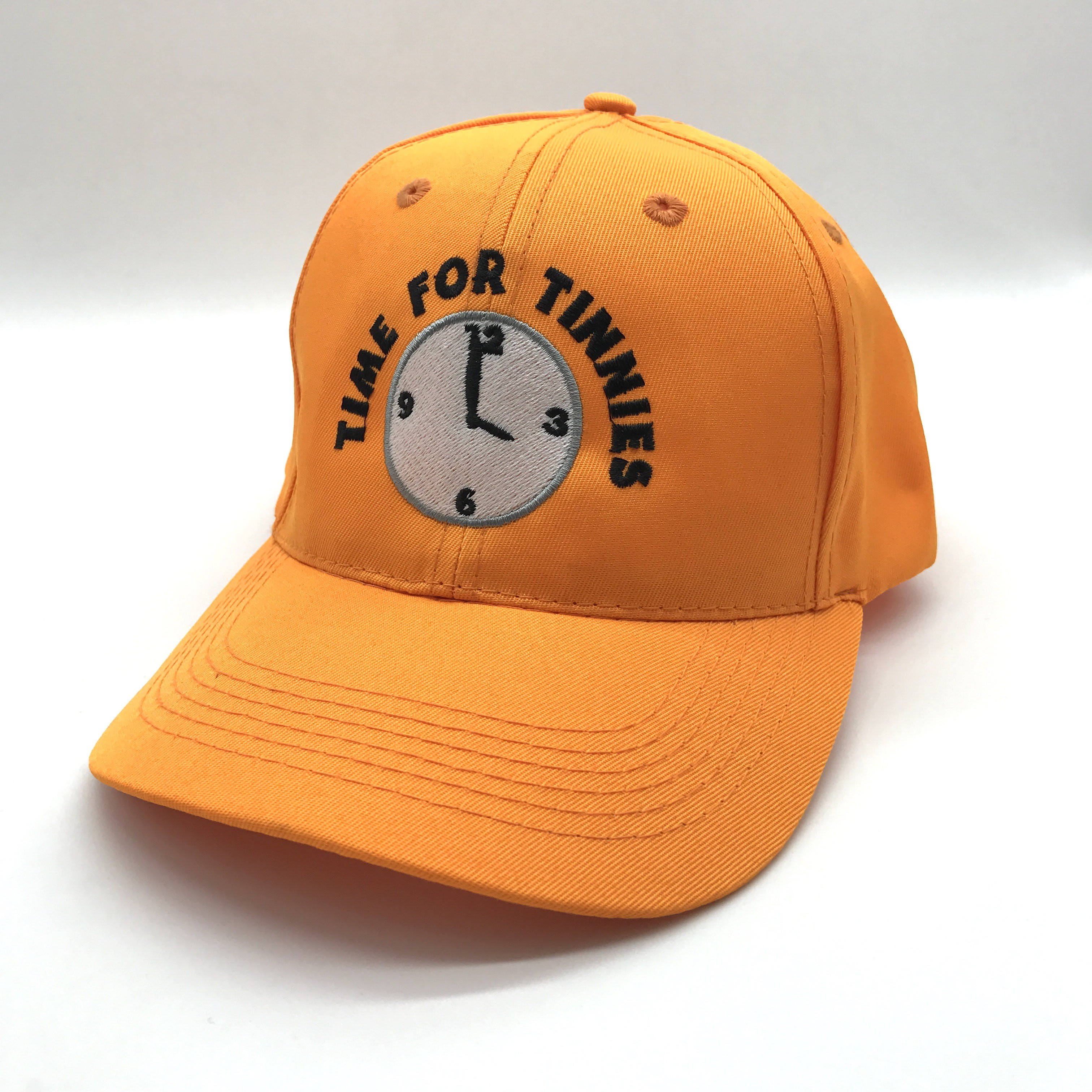 TIME FOR TINNIES ORANGE HAT