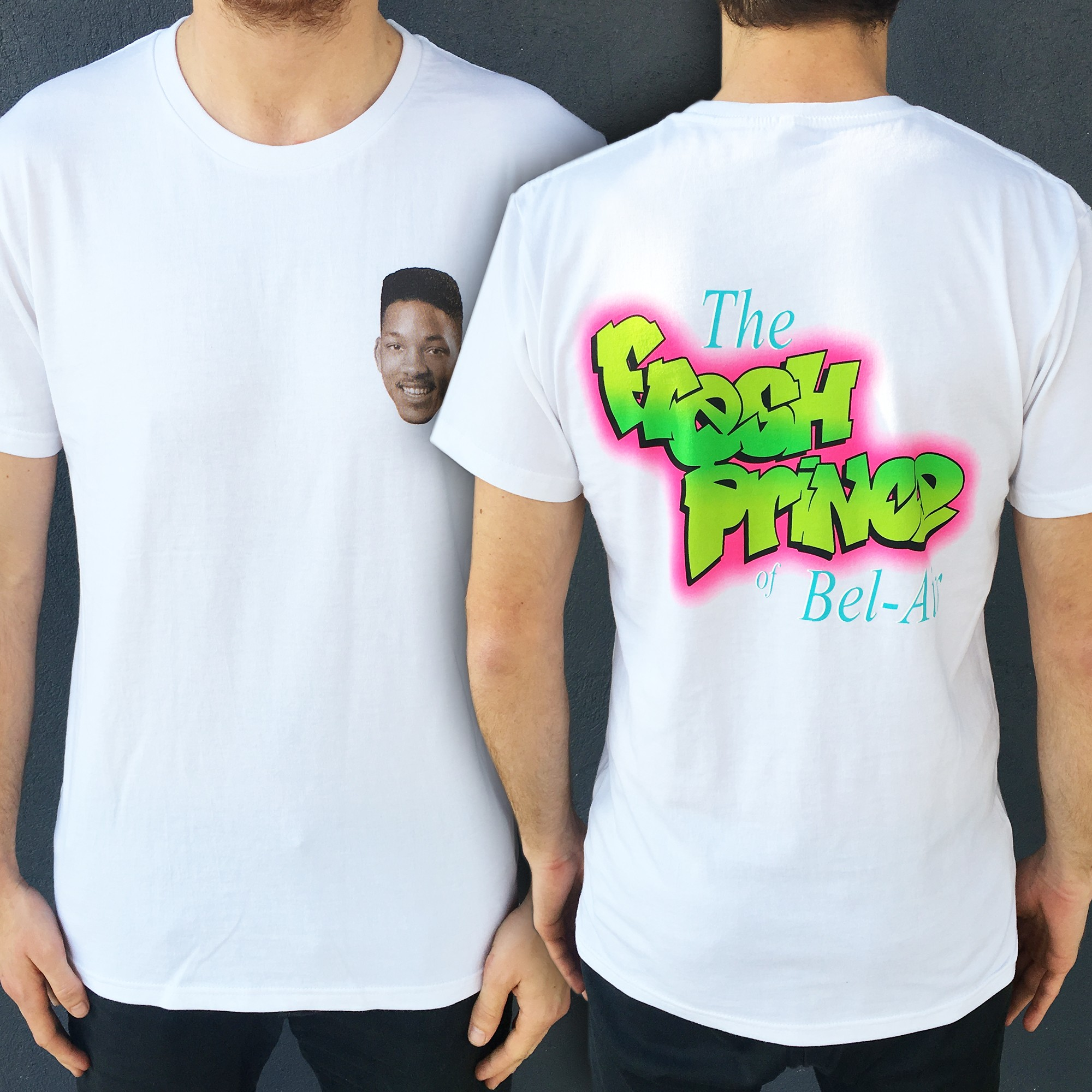 FRONT AND BACK BEL AIR TEE