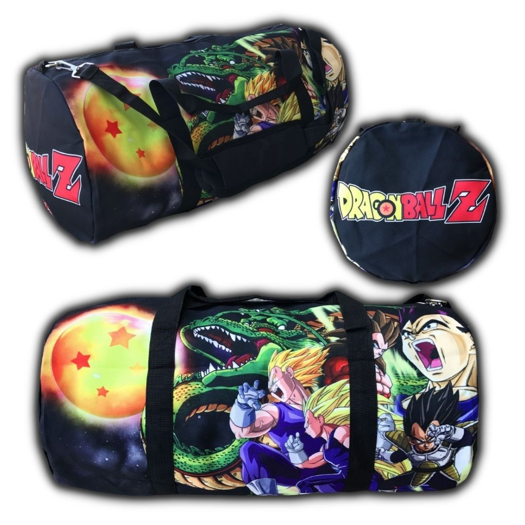 DBZ BLACK DUFFLE BAG