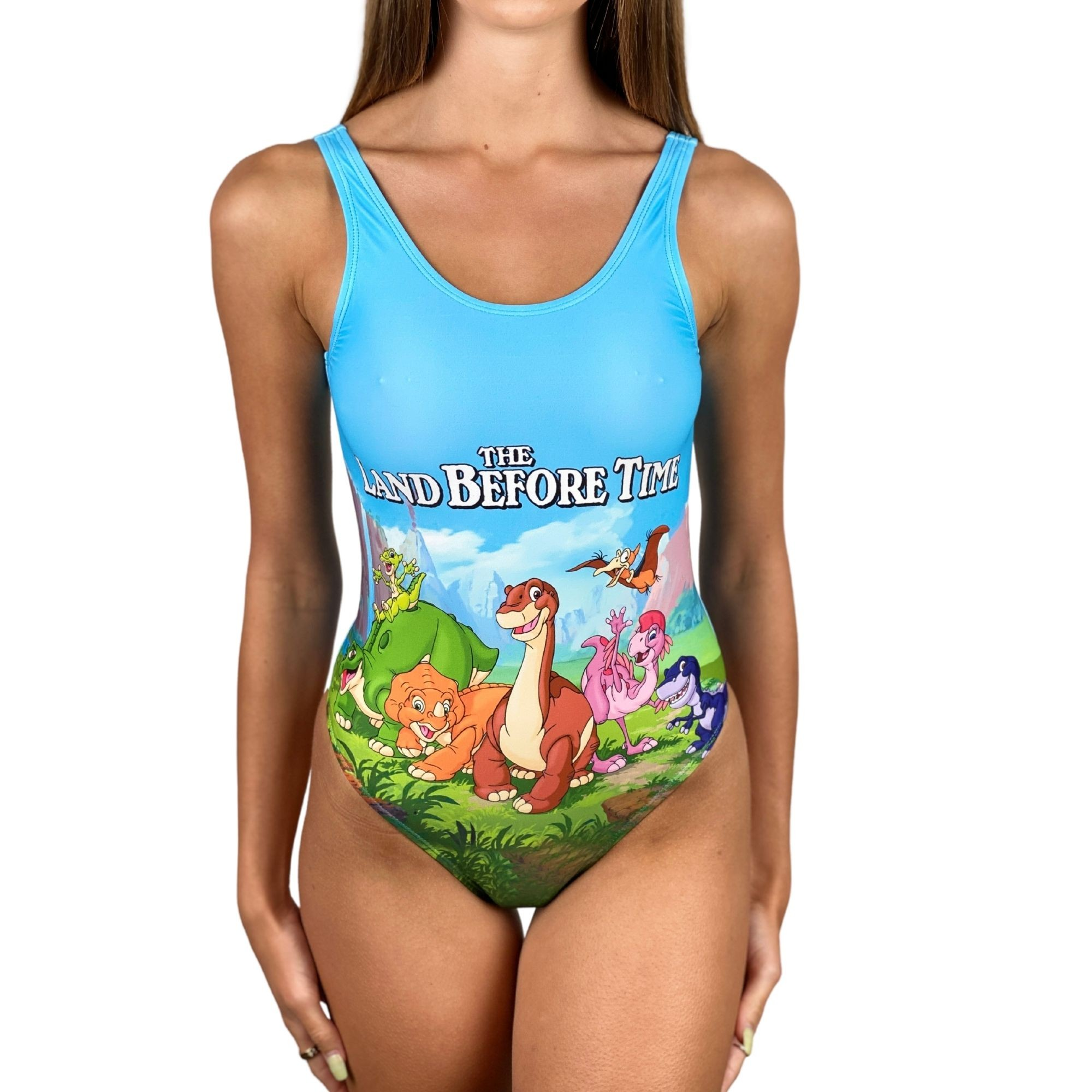 DINOSAURS ONE PIECE SWIMSUIT