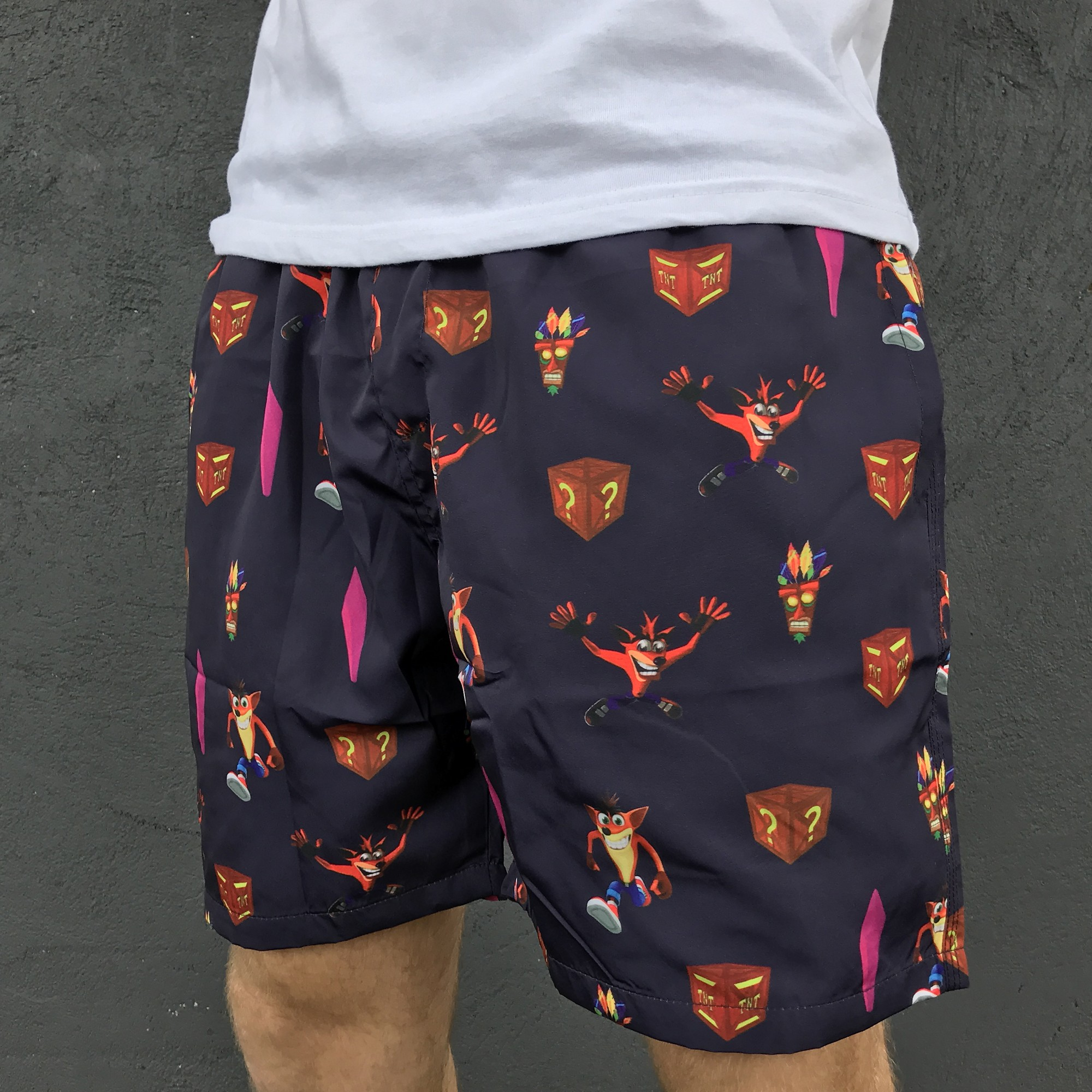 CRASH SWIM SHORTS