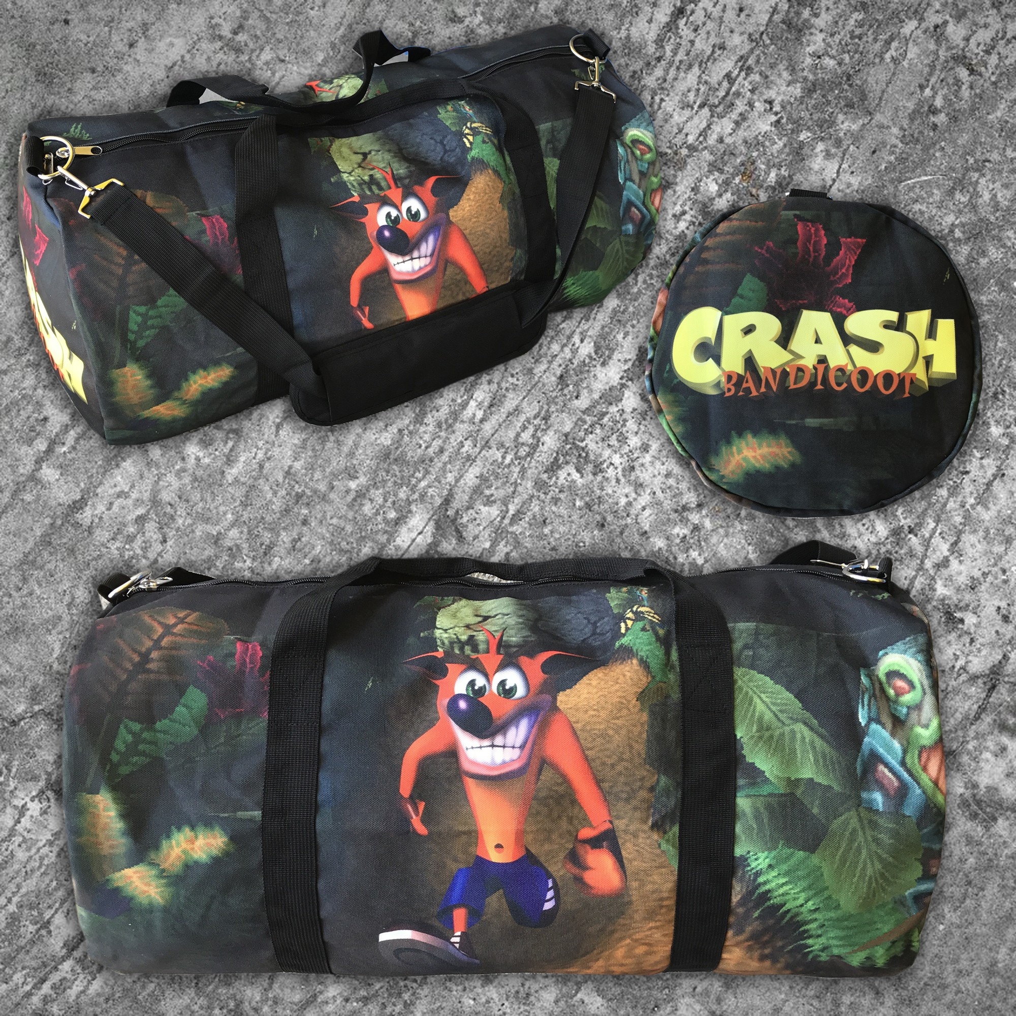 CRASH DUFFLE BAG