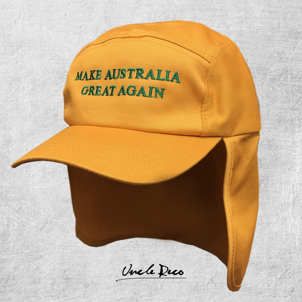 GOLD GREAT AGAIN LEGIONNAIRES HAT