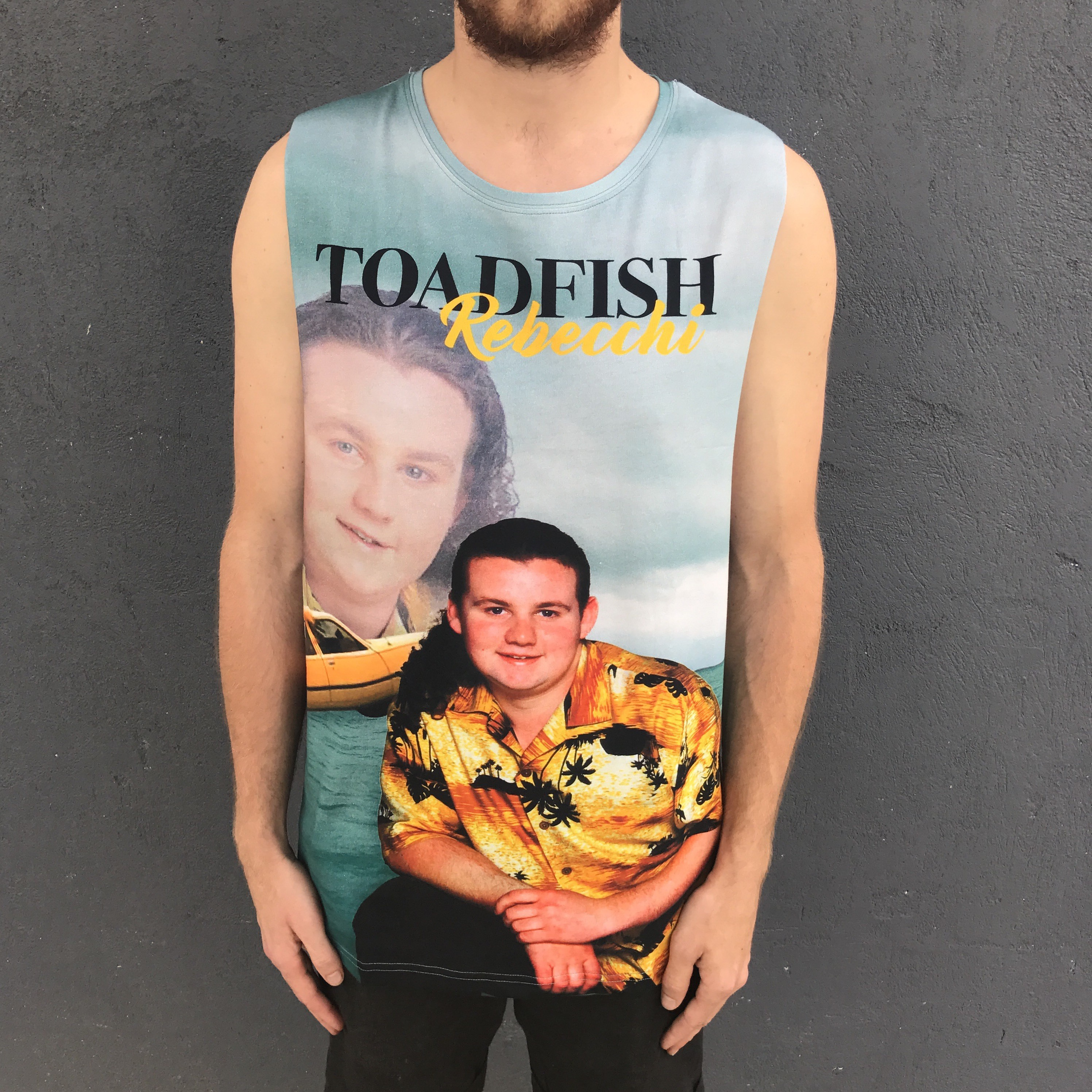 TV LEGEND FULL PRINT TANK