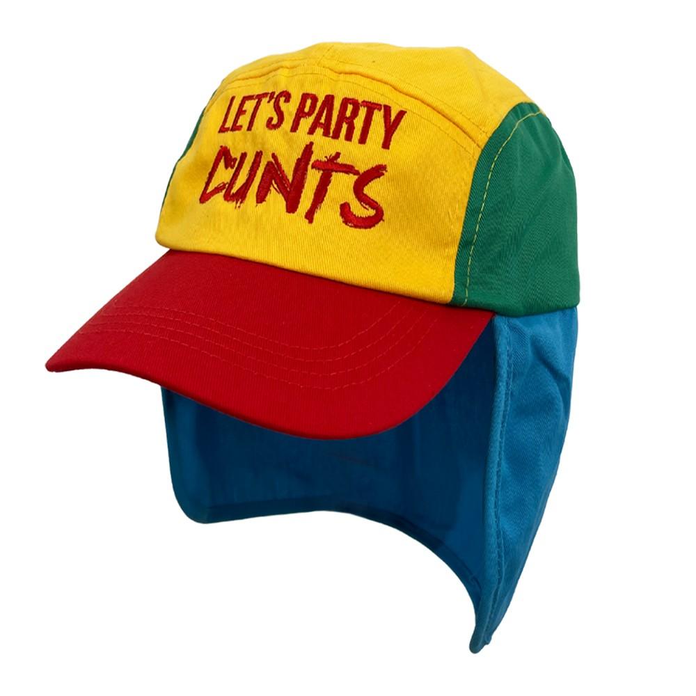 LETS PARTY MULTI COLOURED LEGIONNAIRES HAT