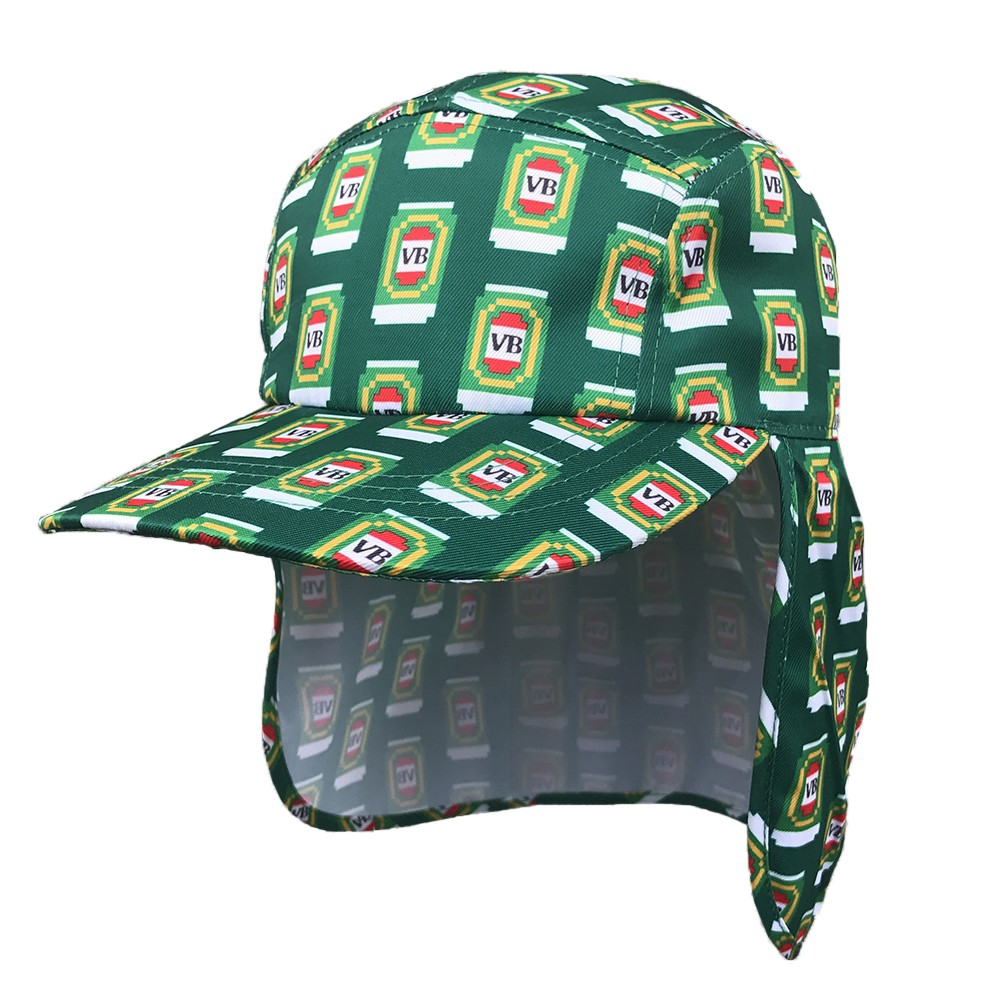 REPEATED 8BIT LEGIONNAIRES HAT