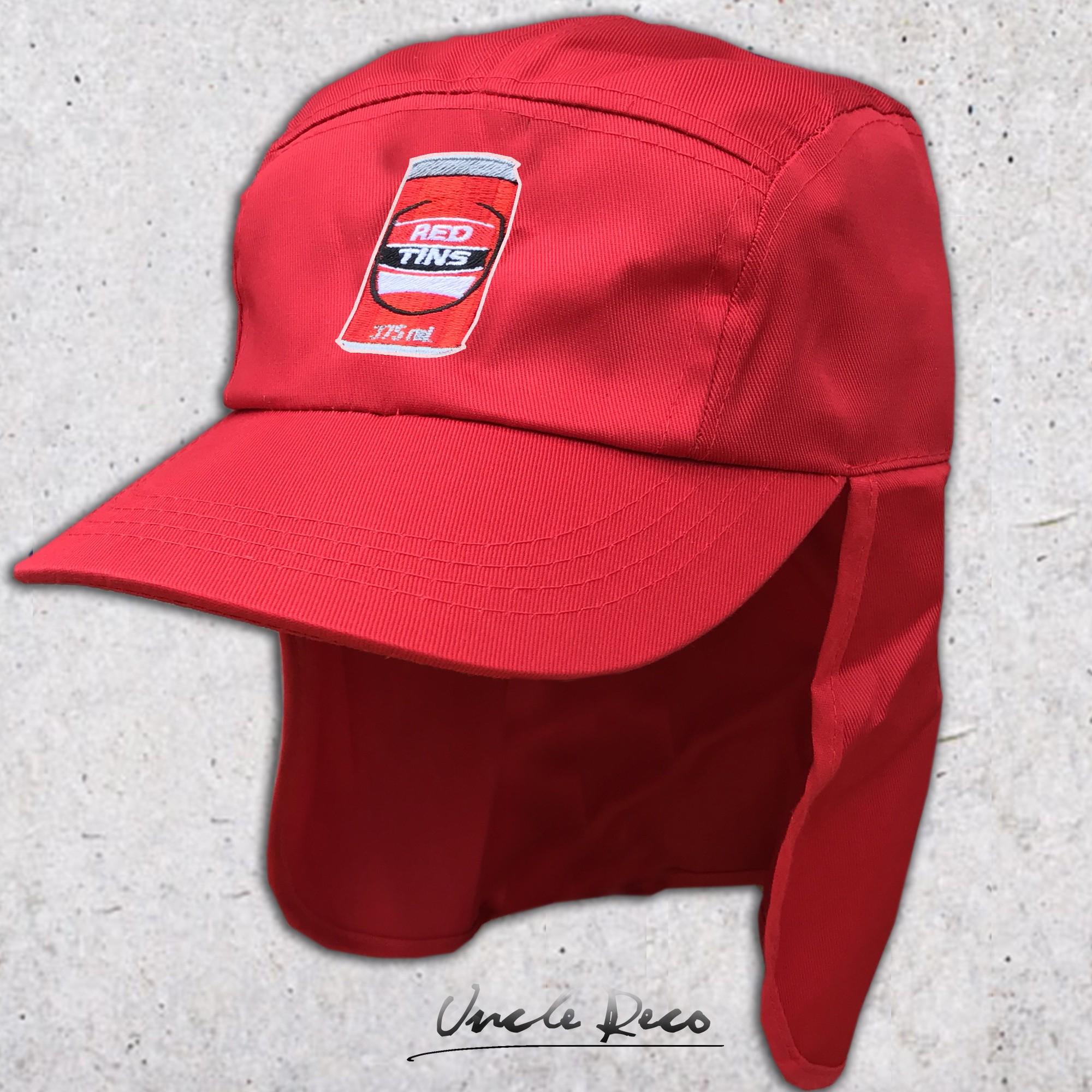 RED TINS LEGIONNAIRES HAT