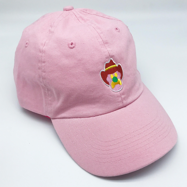 PINK ICE CREAM DAD HAT