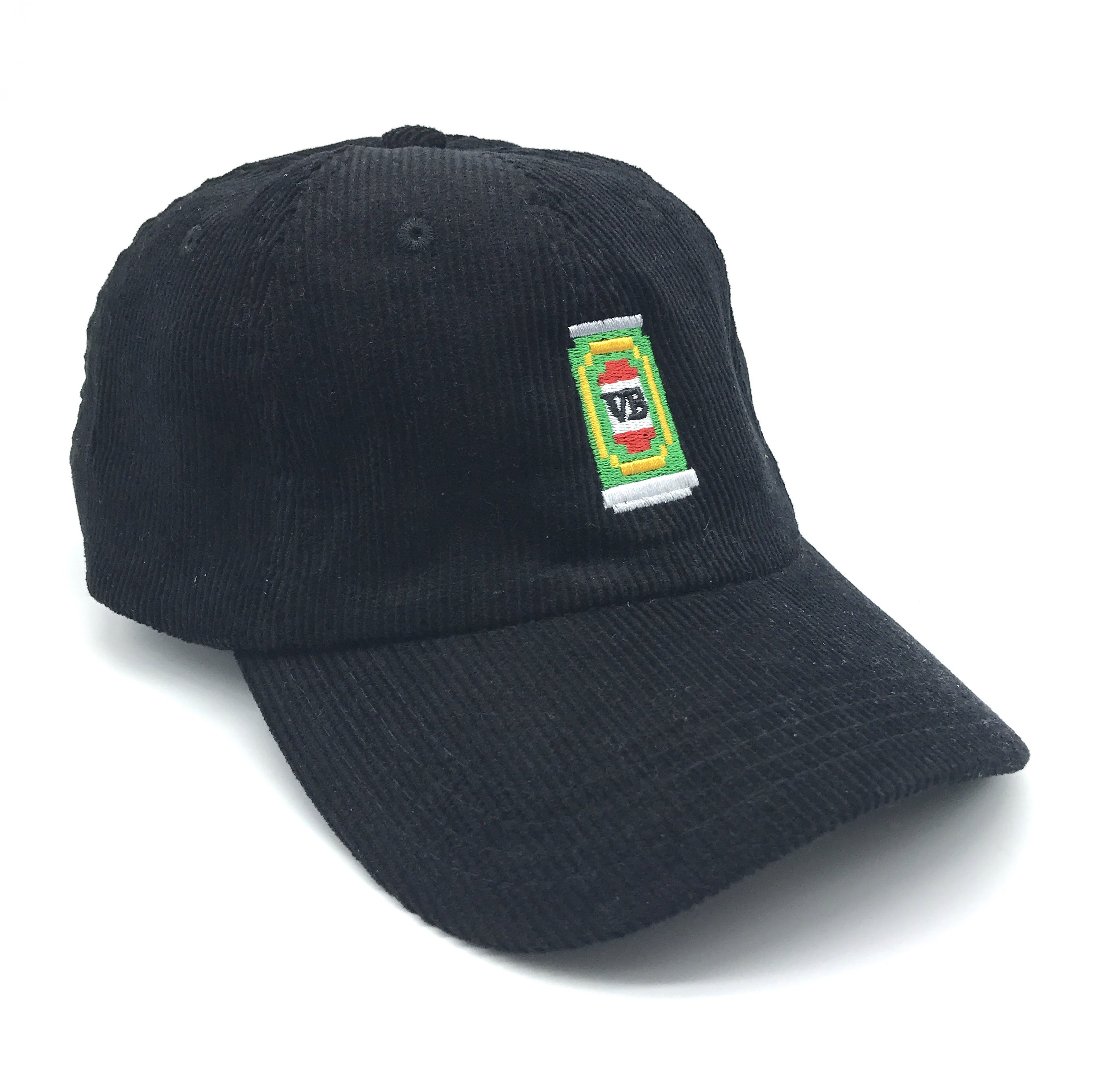 8BIT DAD HAT BLACK CORD