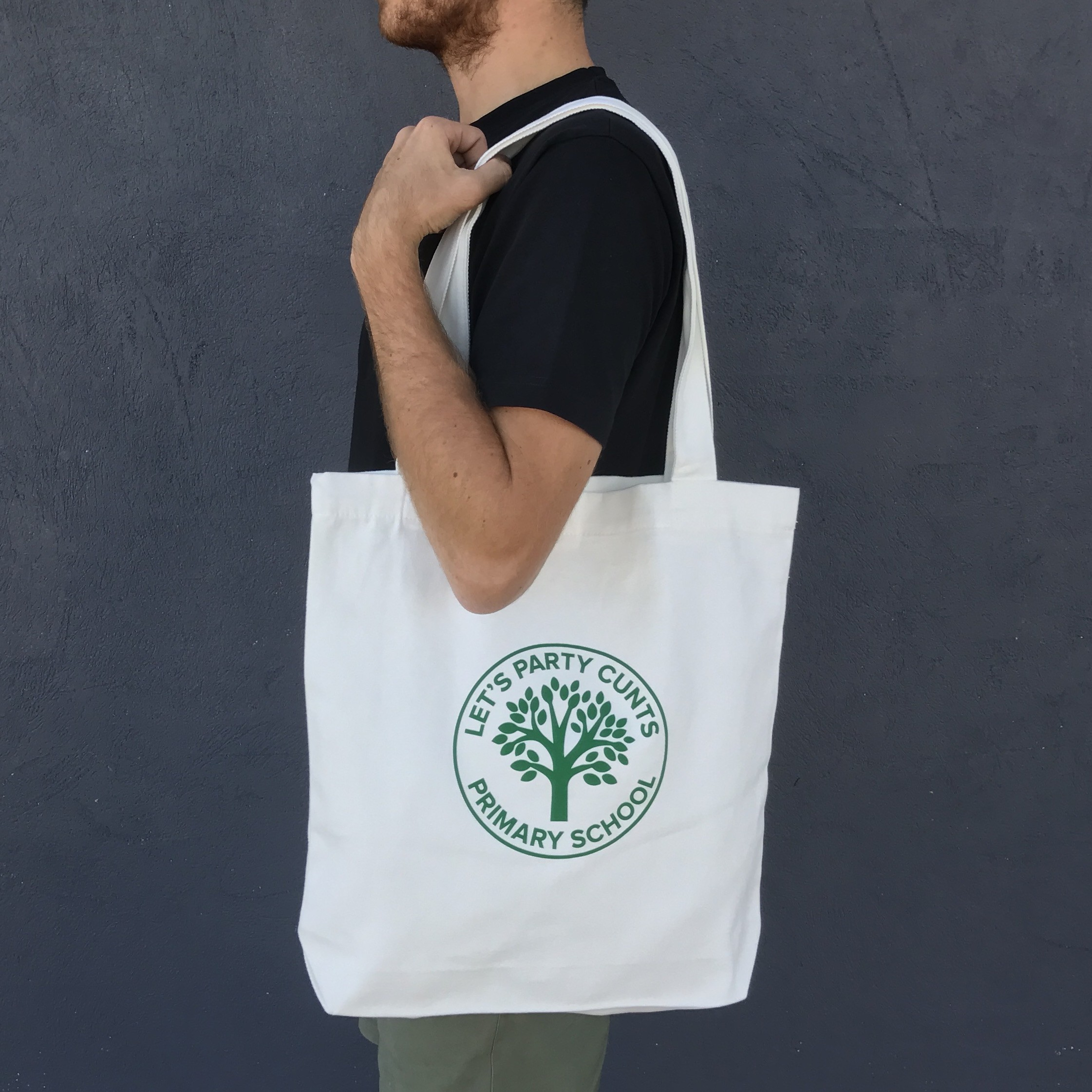 PRIMARY SCHOOL LETS PARTY TOTE BAG