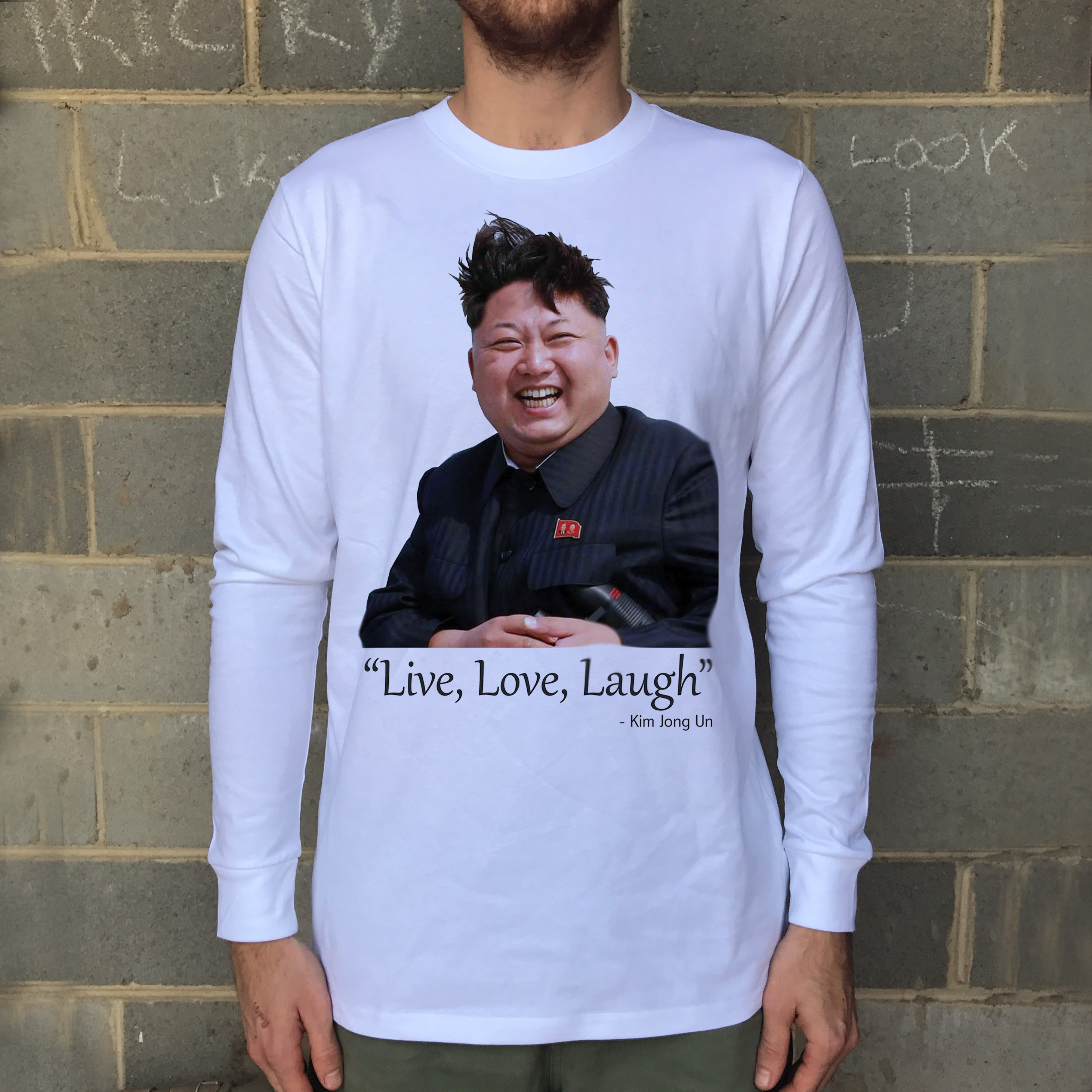LIVE, LAUGH, LOVE LONGSLEEVE