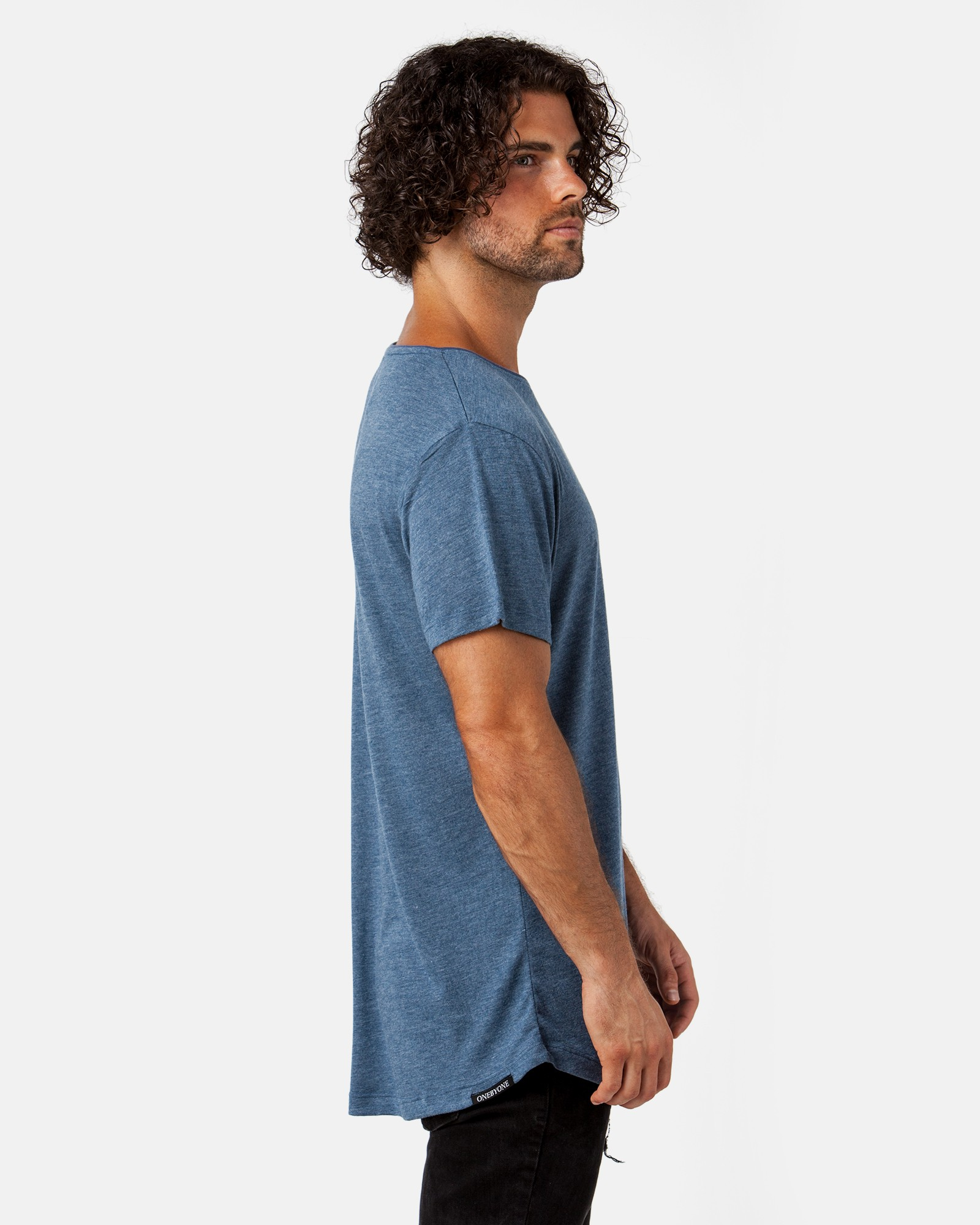 CLASSIC MARBLE BLUE TEE