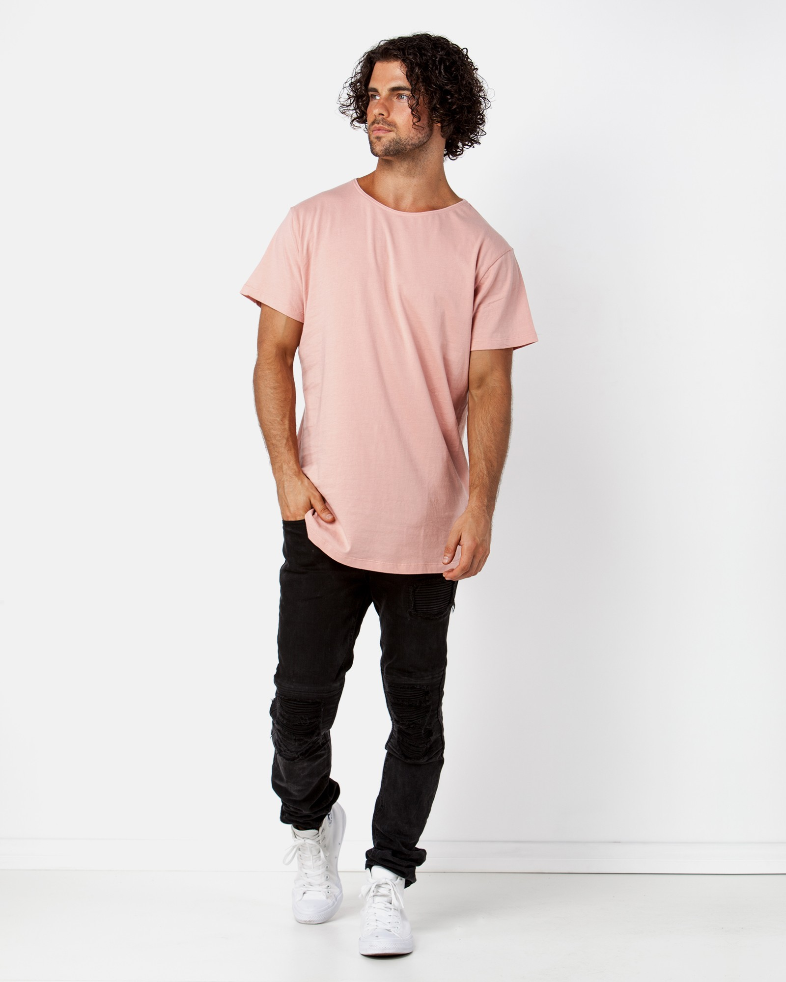 CLASSIC PINK TEE