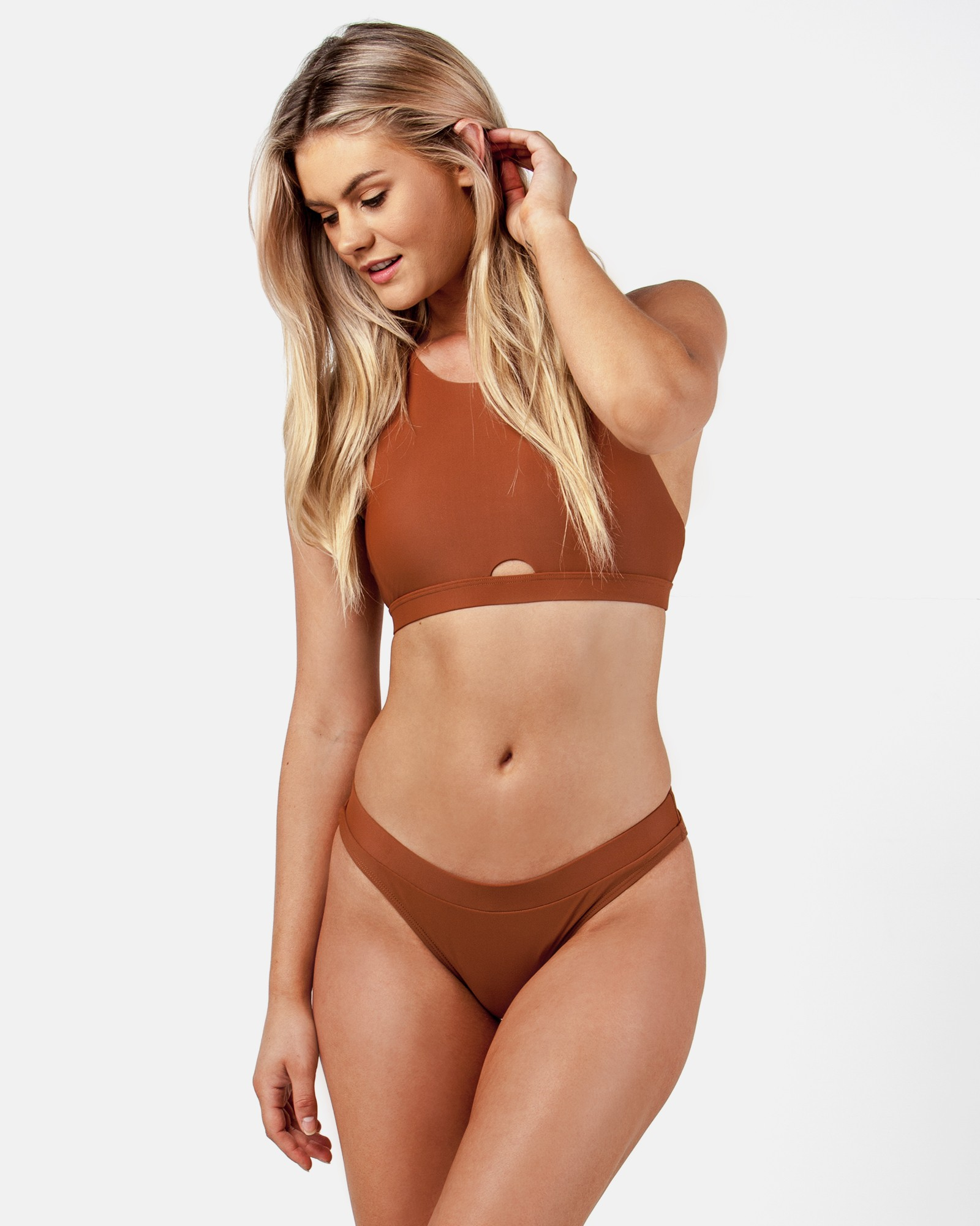 MARY KATE BRONZE TOP