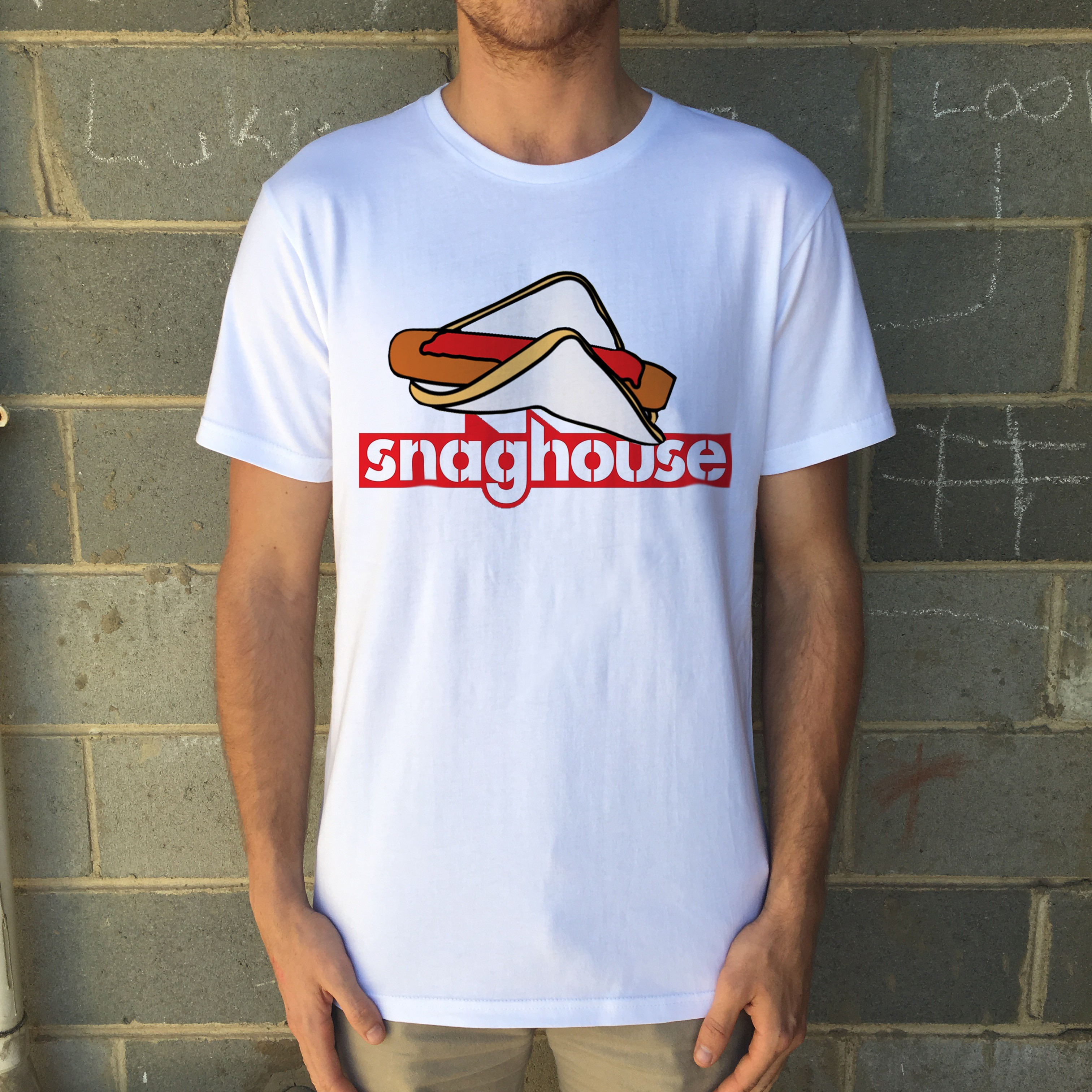 SNAGS WHITE TEE