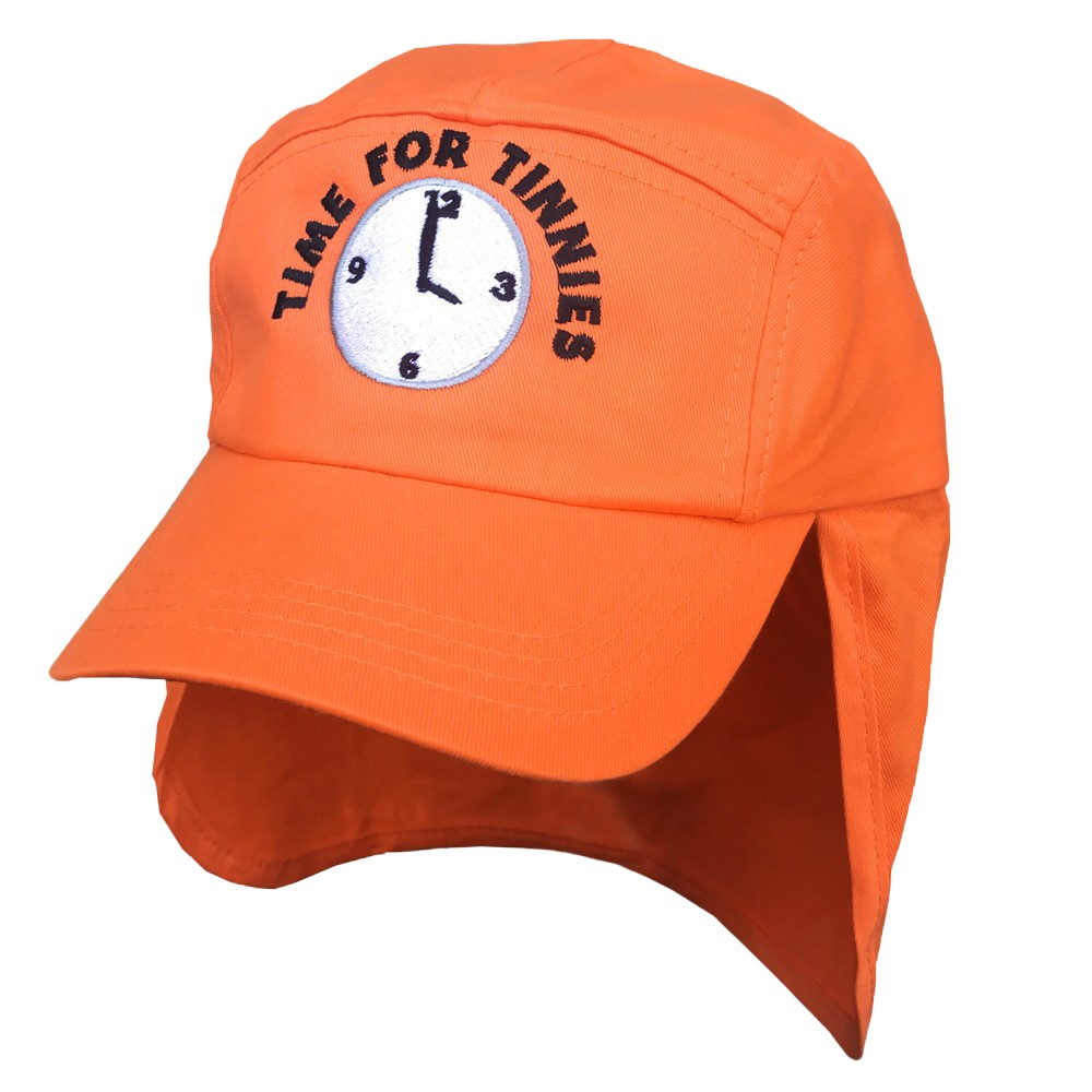 ORANGE TIME FOR TINNIES LEGIONNAIRES HAT