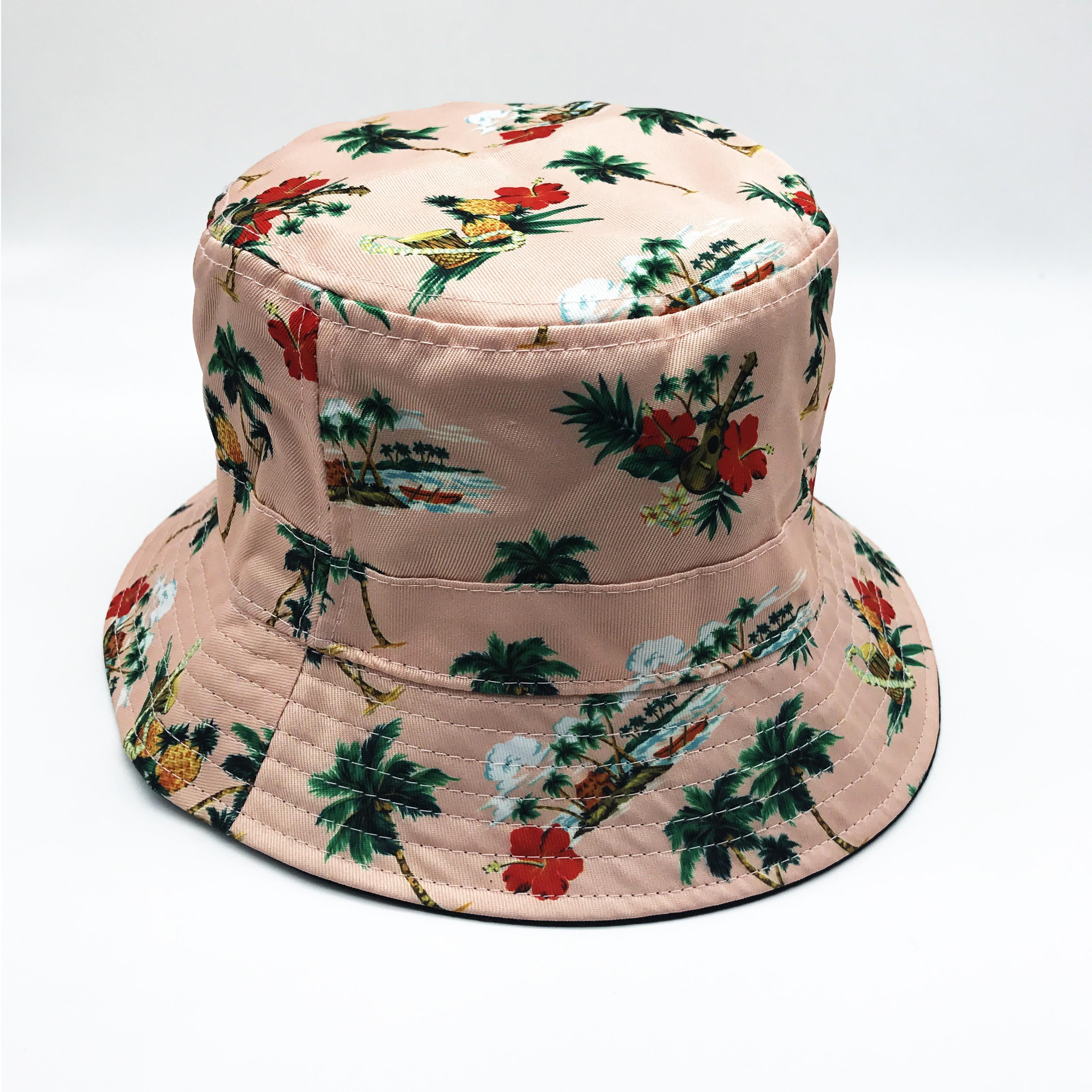 DUSTY PINK REVERSIBLE BUCKET HAT