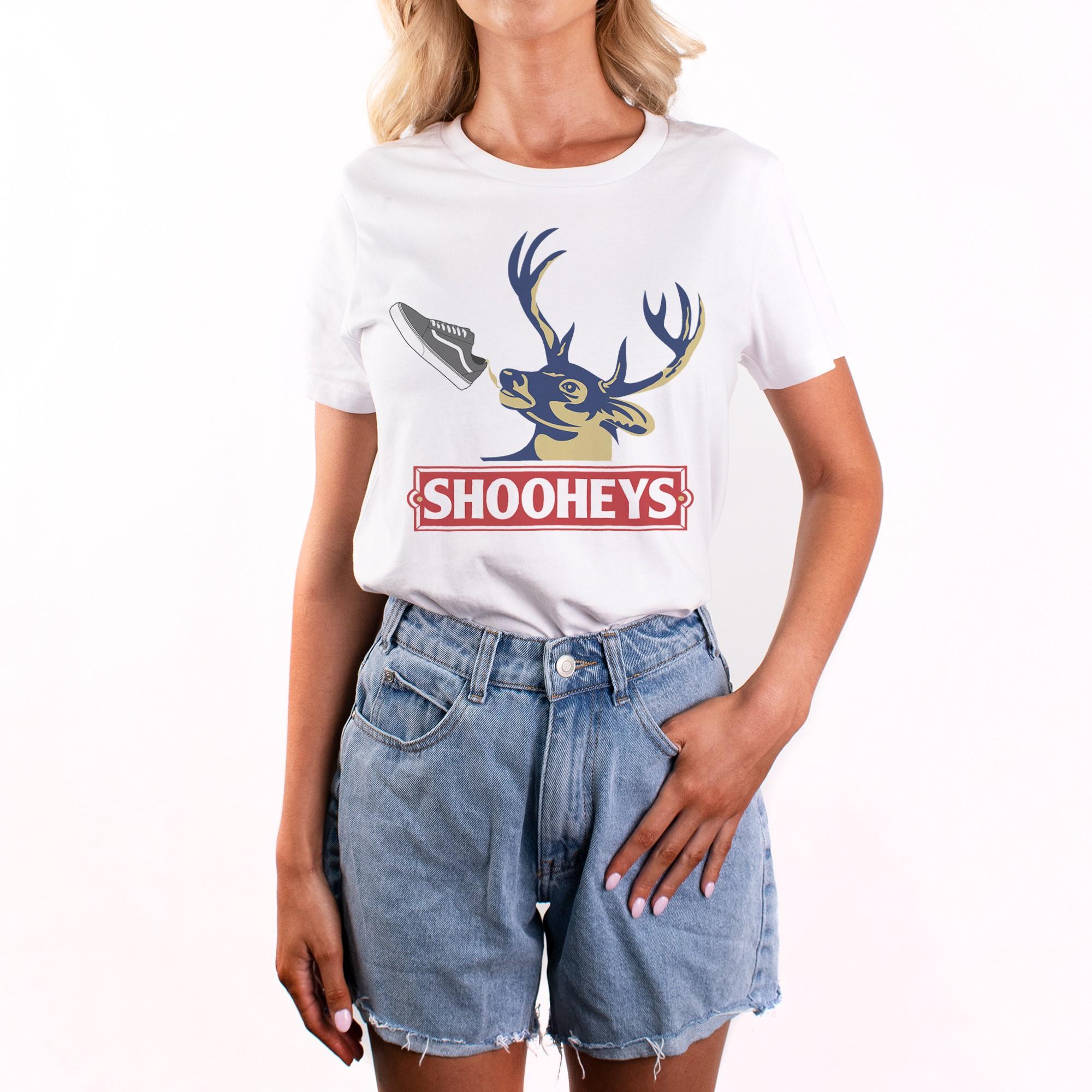 SHOOHEYS WHITE TEE