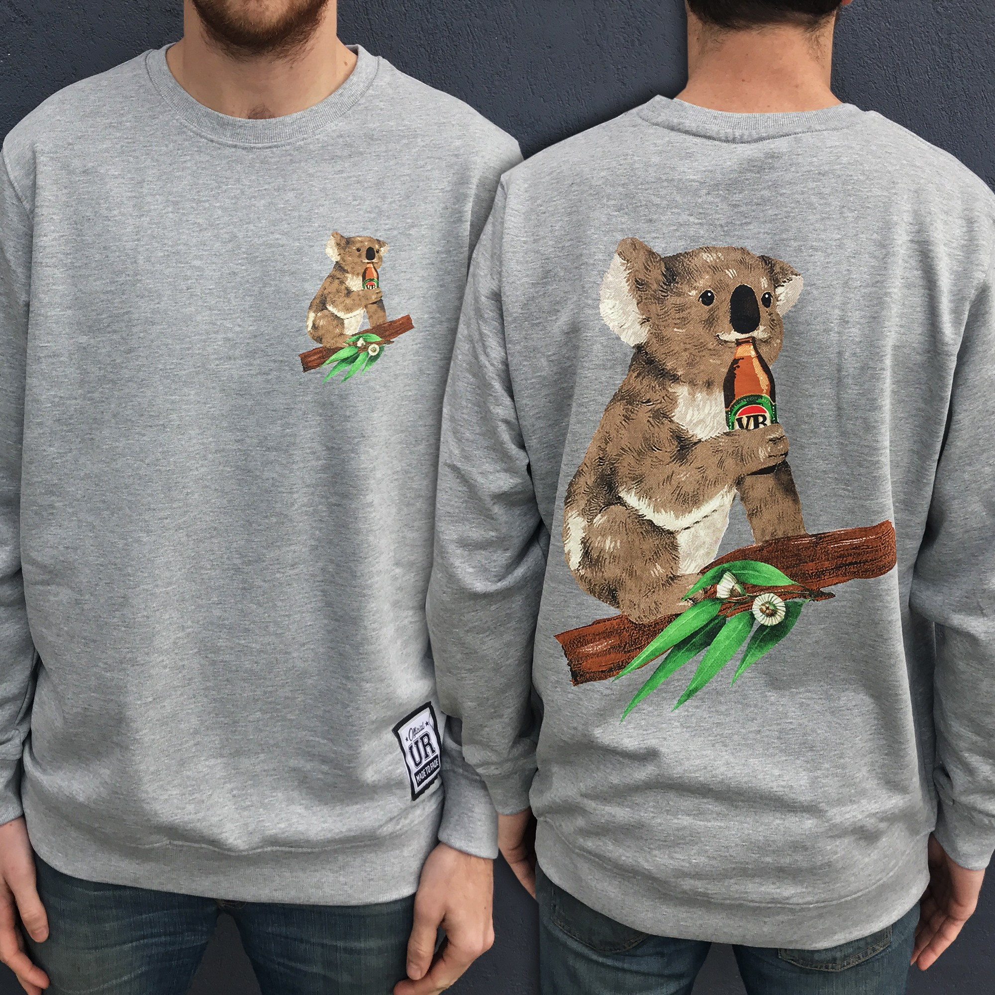 KOALA BEERS MARBLE CREW FRONT AND BACK