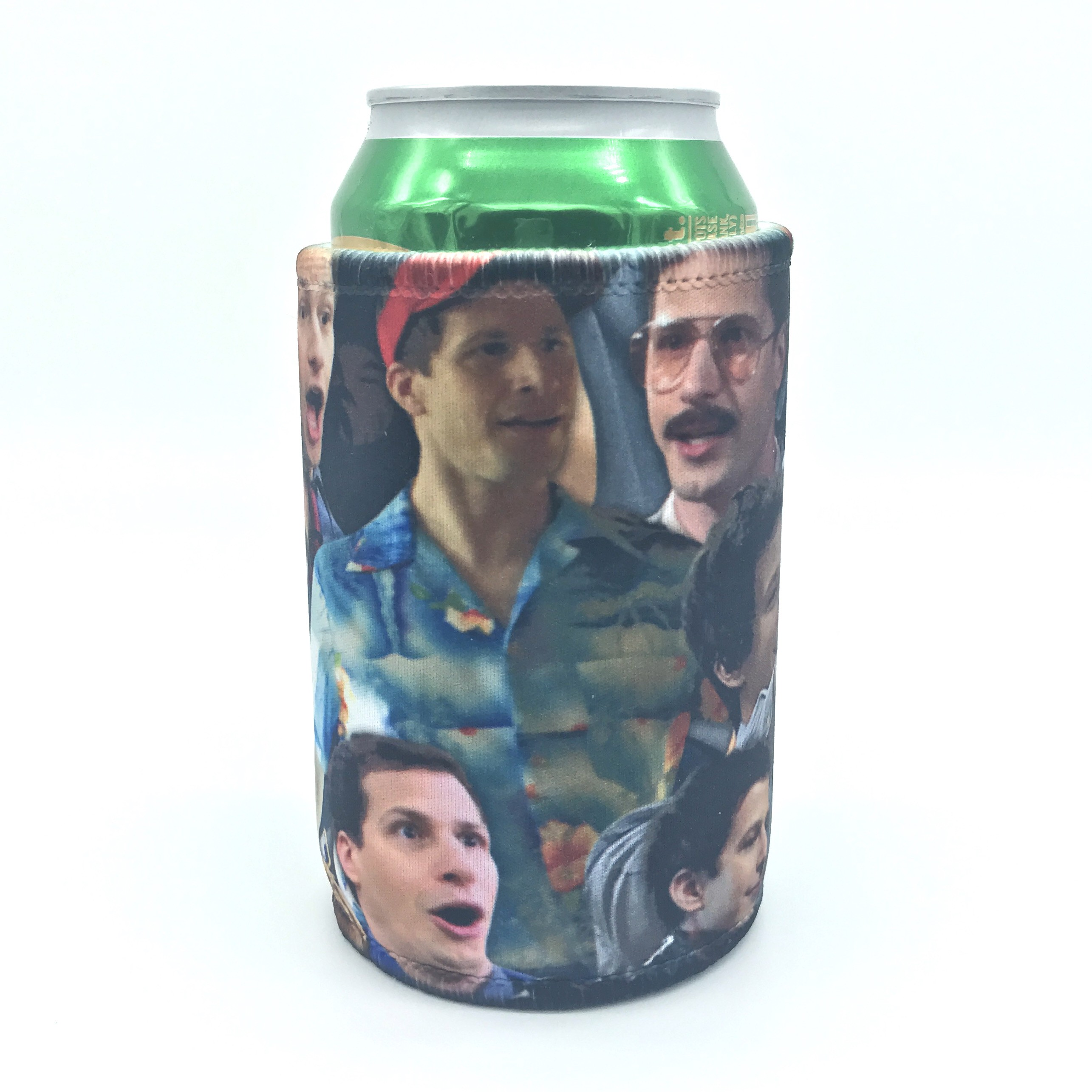 COLLAGE STUBBY HOLDER