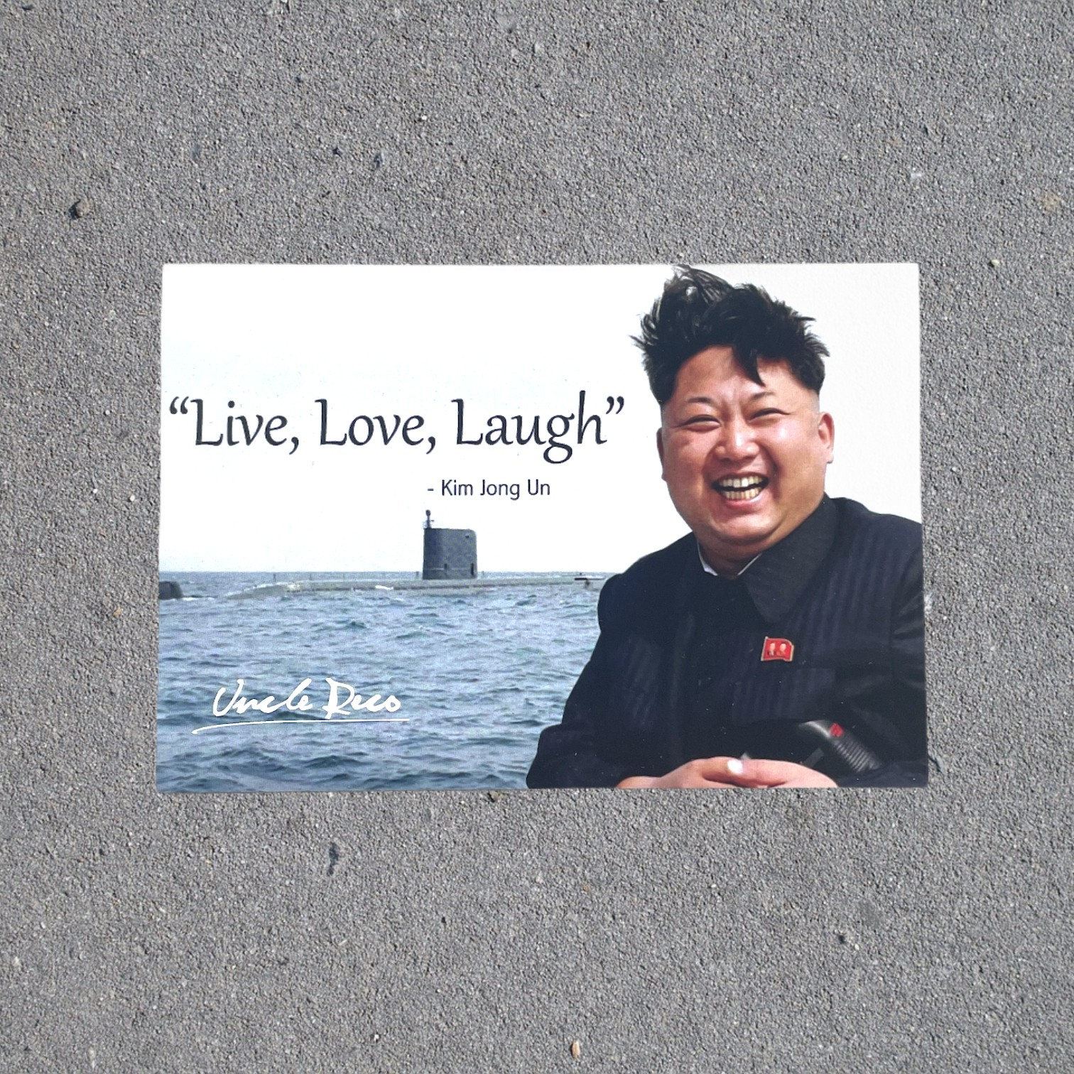 LIVE LOVE LAUGH STICKER