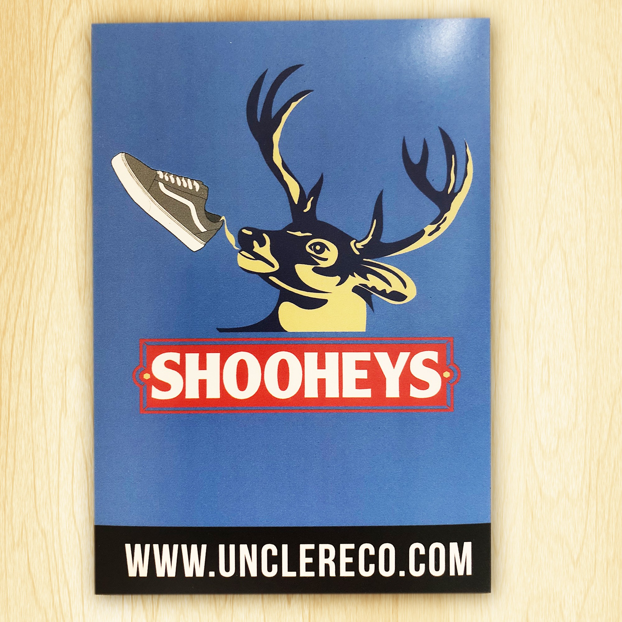 SHOOHEYS STICKER