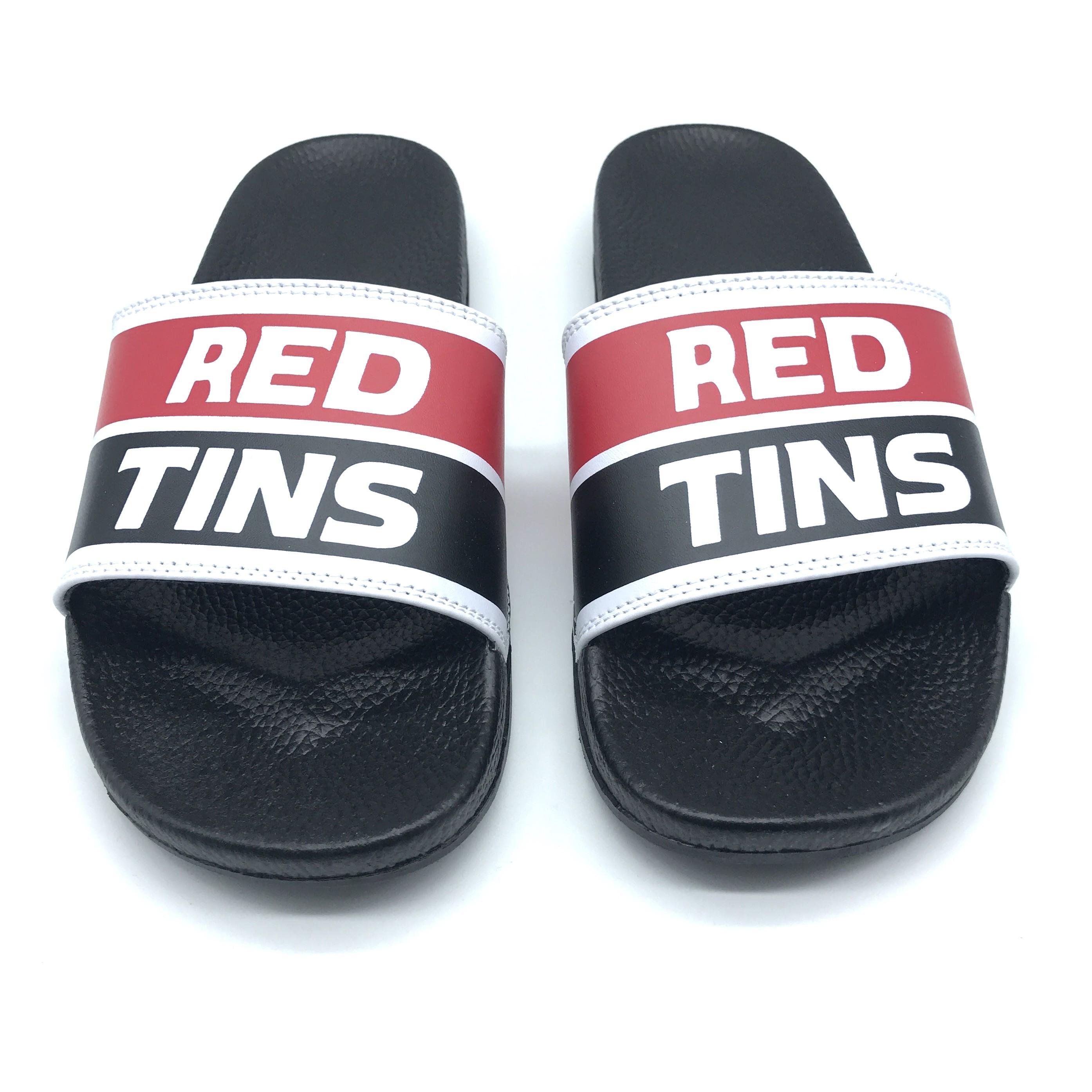 RED TINS SLIDES