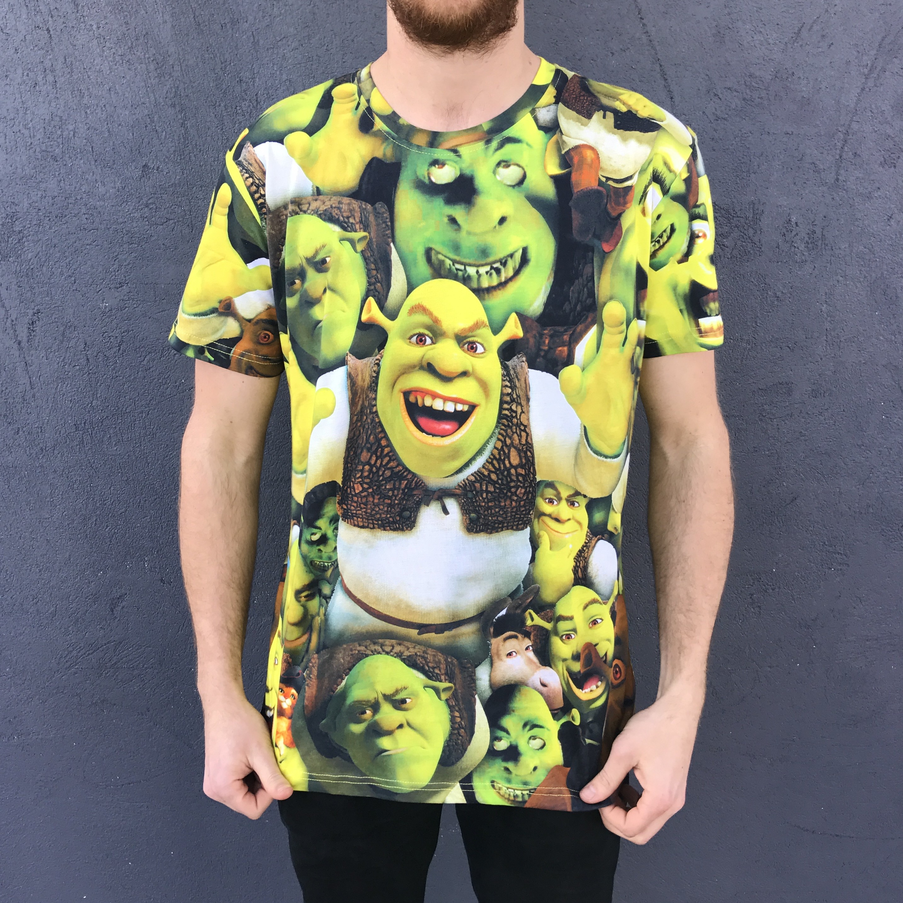 ALL OGRE NOW ALL OVER PRINT TEE