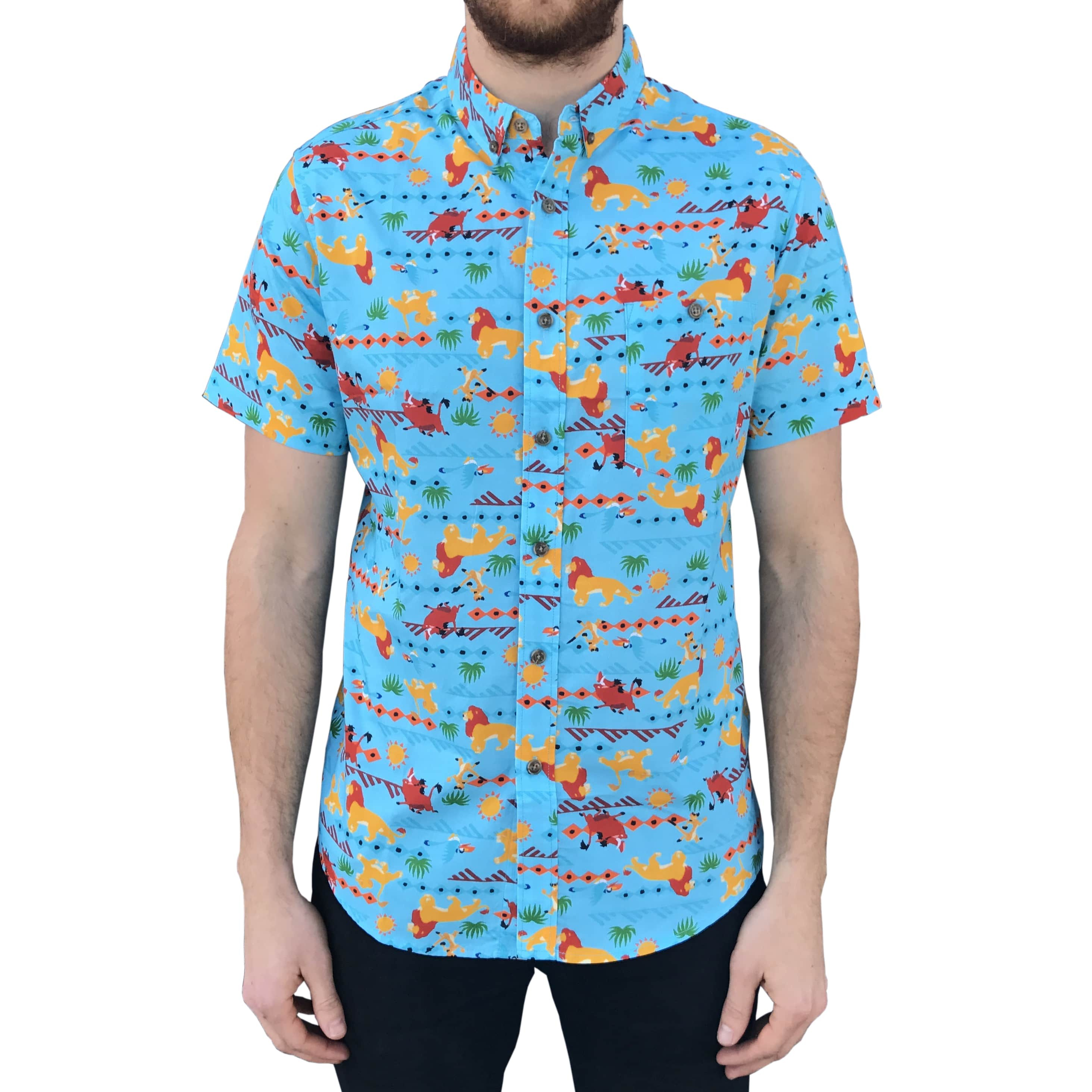 THE KING BUTTON UP PARTY SHIRT