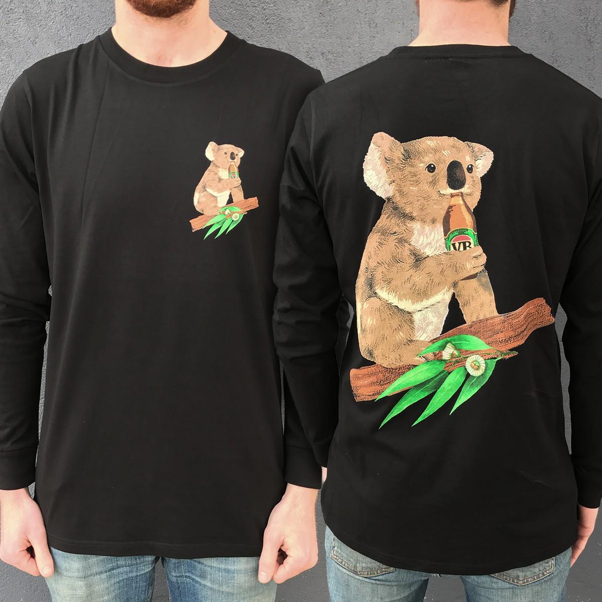 BLACK KOALA BEERS LONGSLEEVE