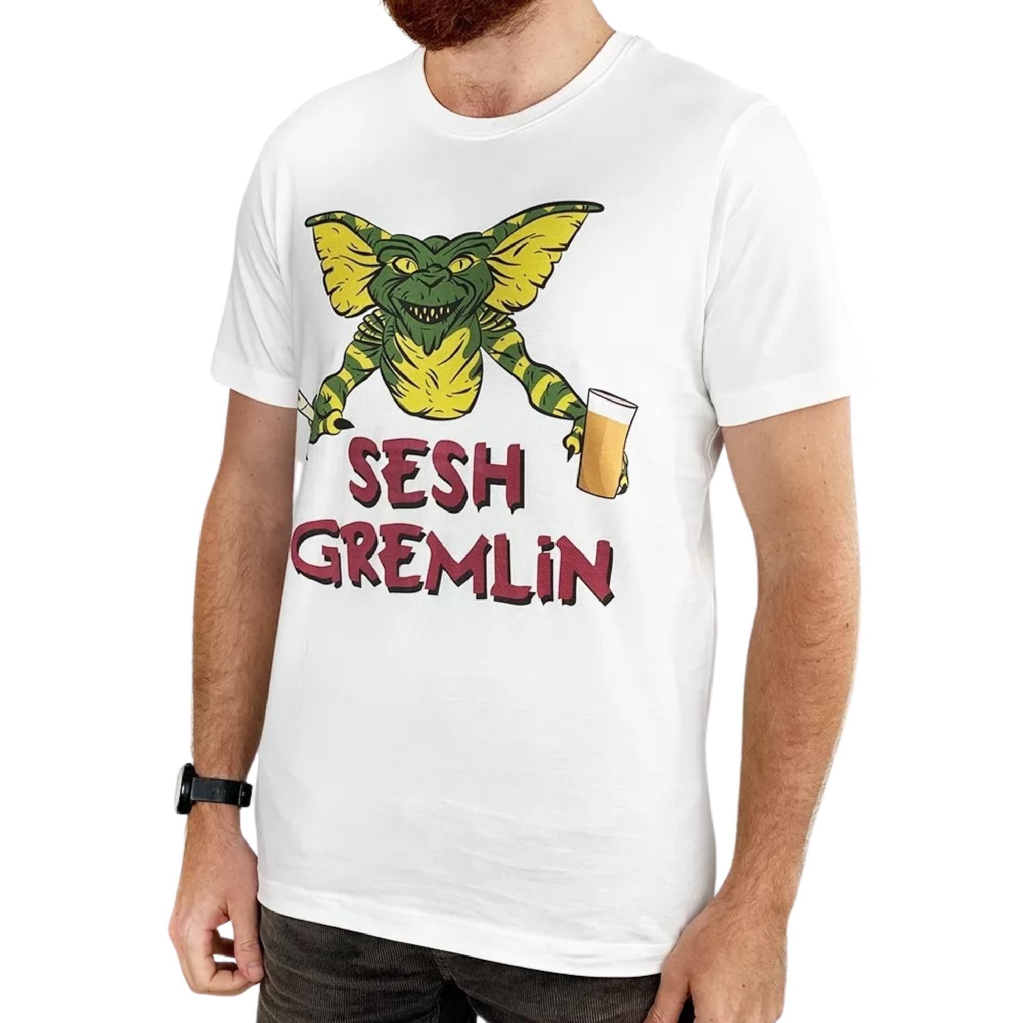 SESH GREMLIN WHITE TEE