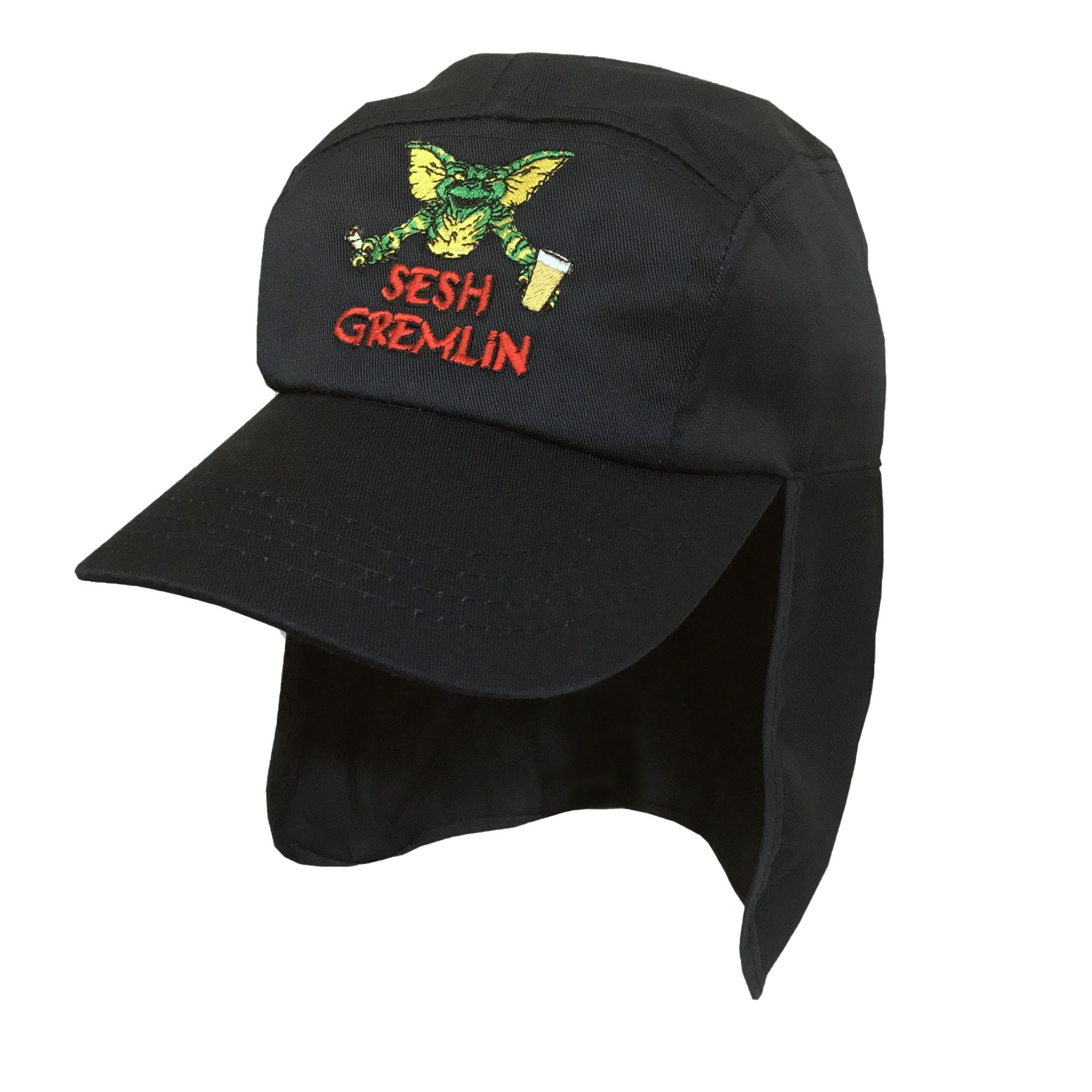 SESH GREMLIN BLACK LEGIONNAIRES HAT