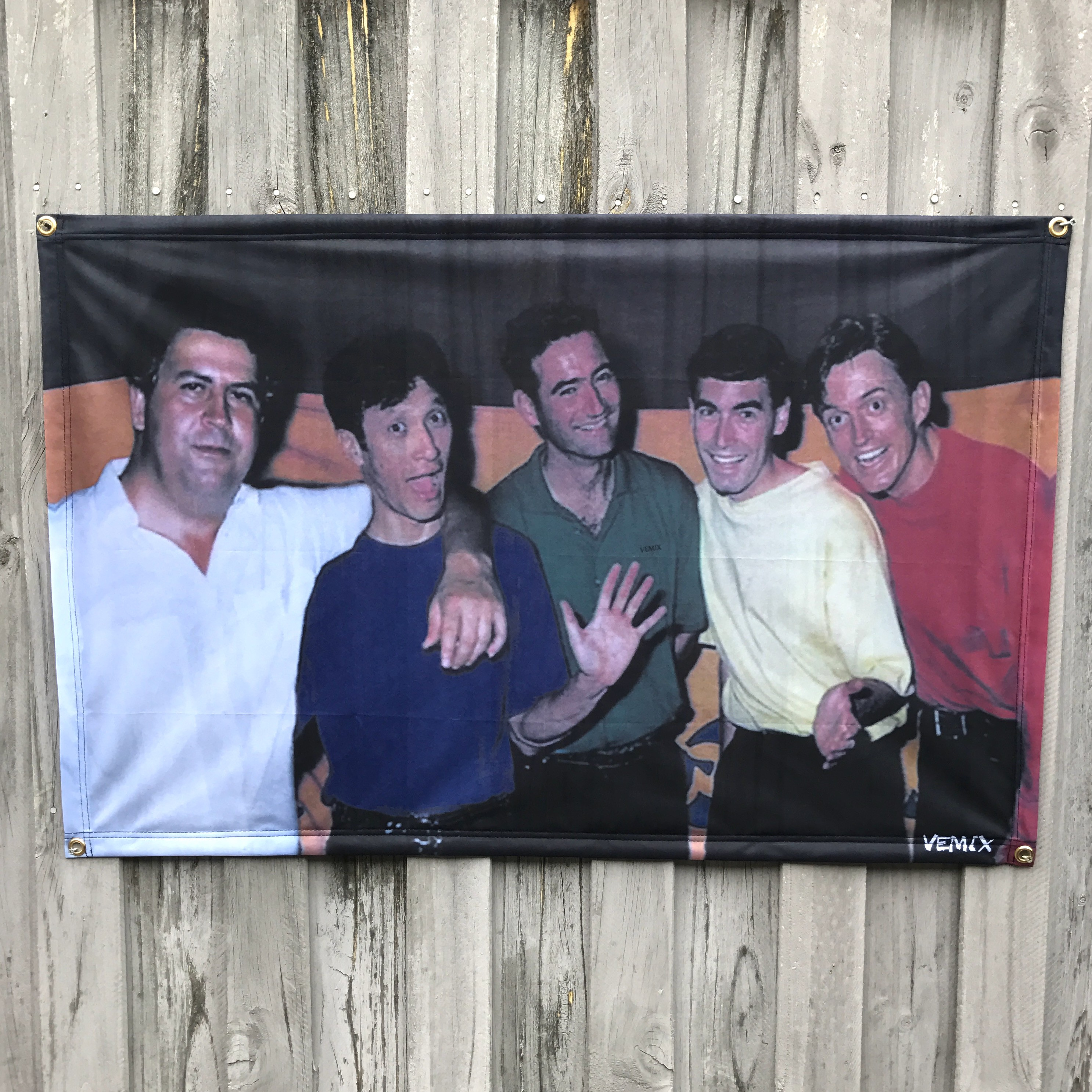 THE NARCOS WALL HANGING 1100 X 700MM