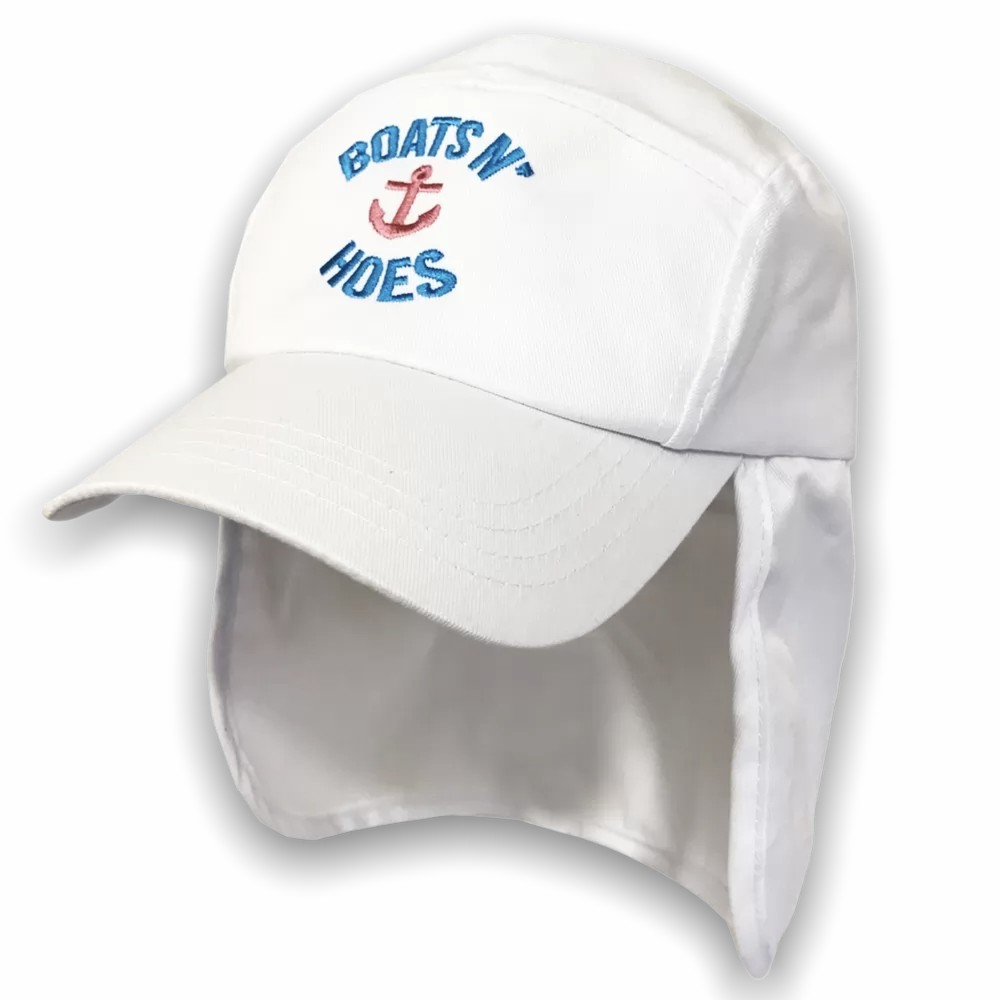 BOATS N HOES WHITE LEGIONNAIRES HAT