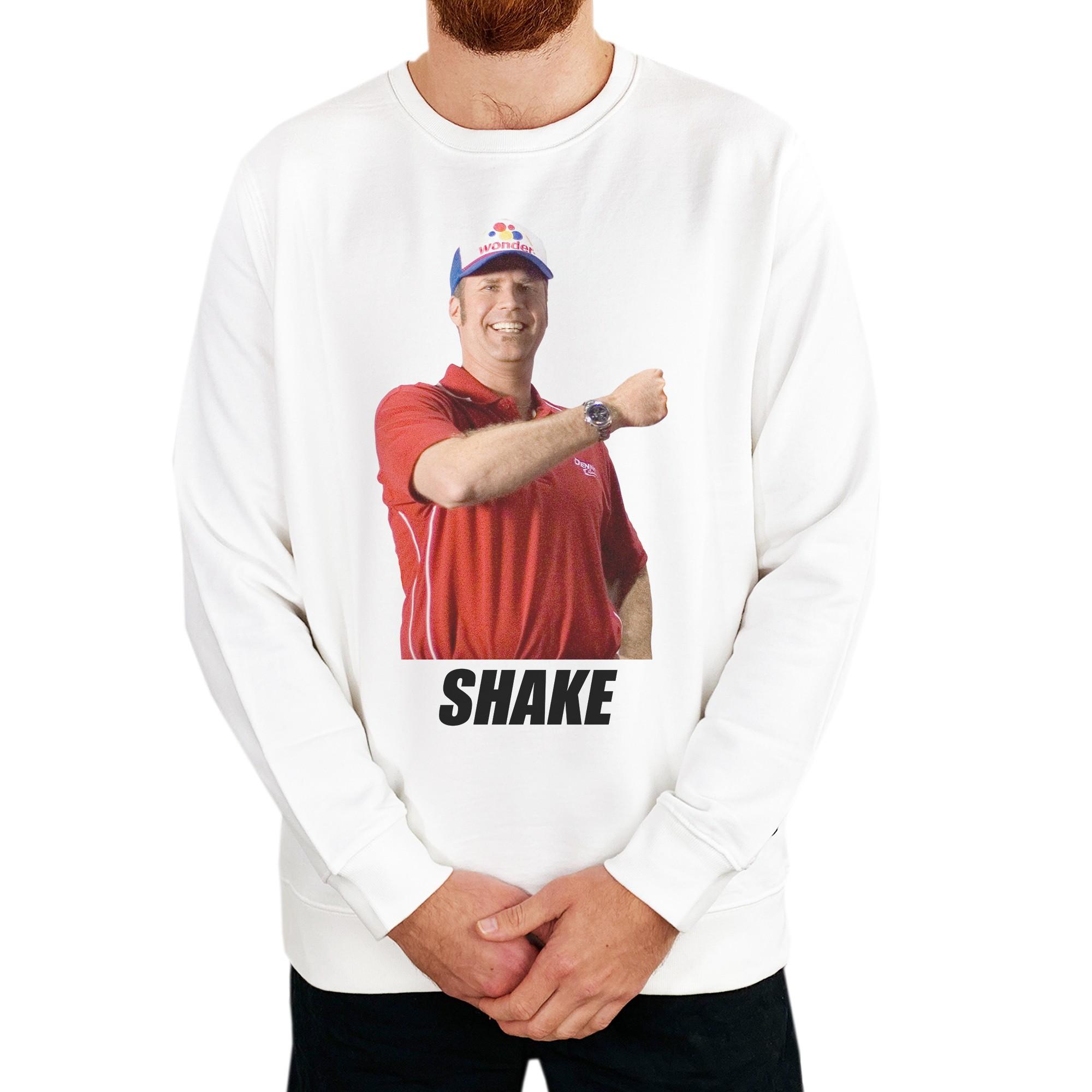 SHAKE WHITE CREW