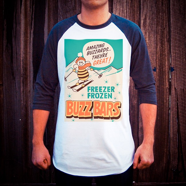 BUZZ BARS RAGLAN