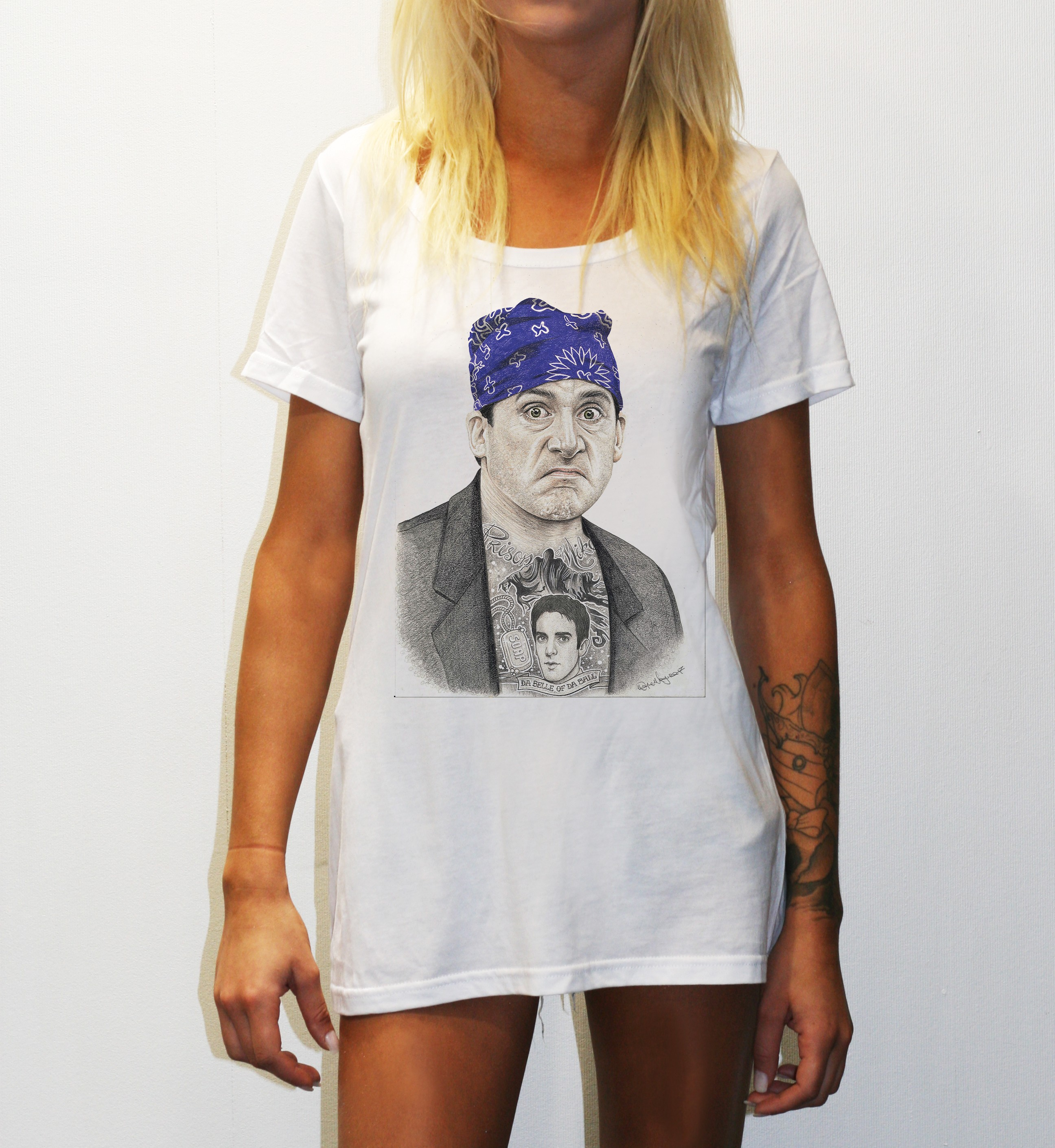 WOMENS PRISON MIKE WHITE TEE