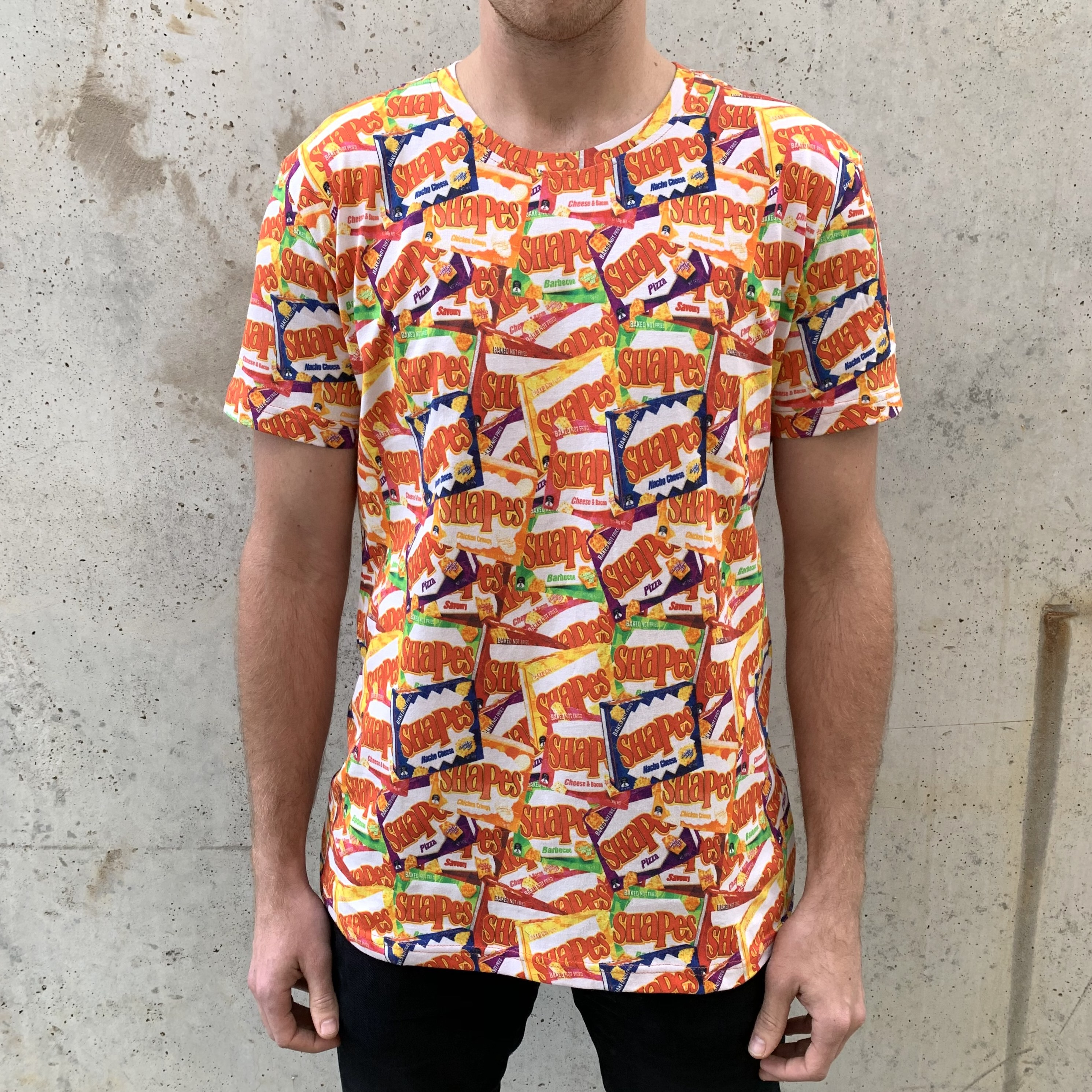 FLAVOURS ALL OVER PRINTED TEE