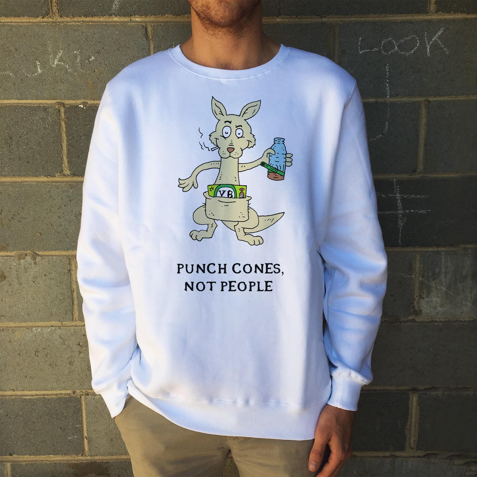 PUNCH CONES WHITE CREW