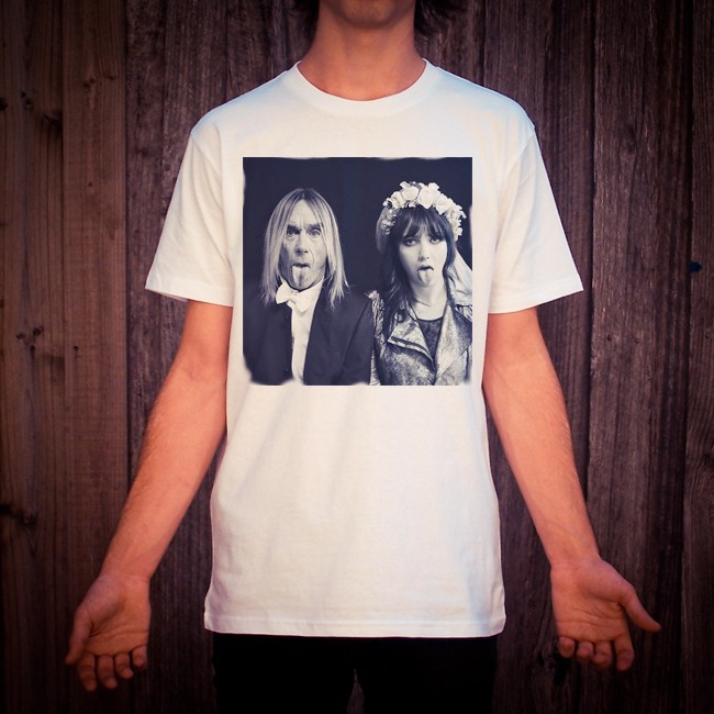 IGGY POP WHITE TEE